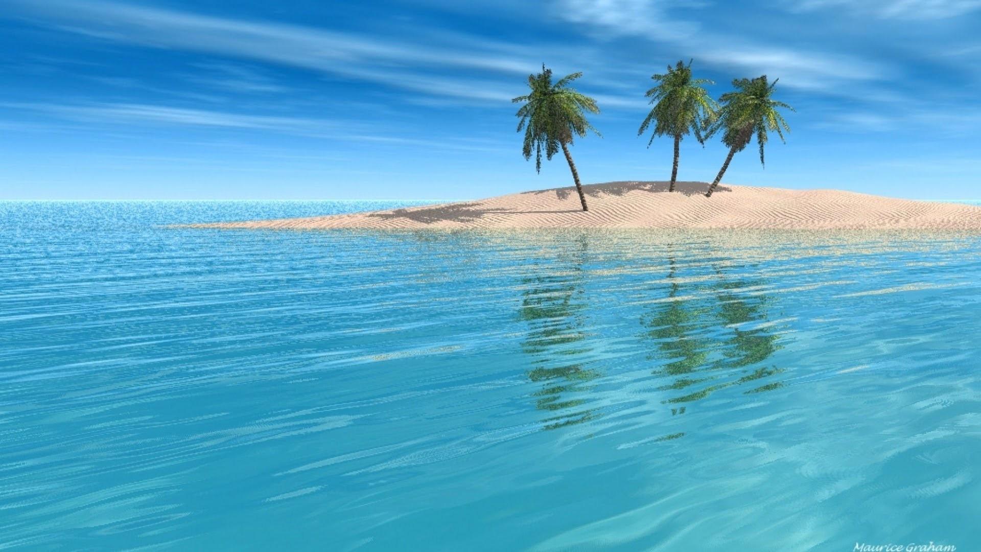 Hd Tropical Island Beach Paradise Wallpapers And Backgrounds: Tropical Island Background ·① WallpaperTag