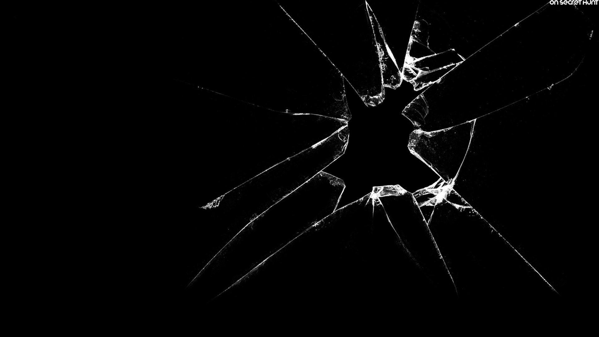 Broken Glass Wallpaper Hd