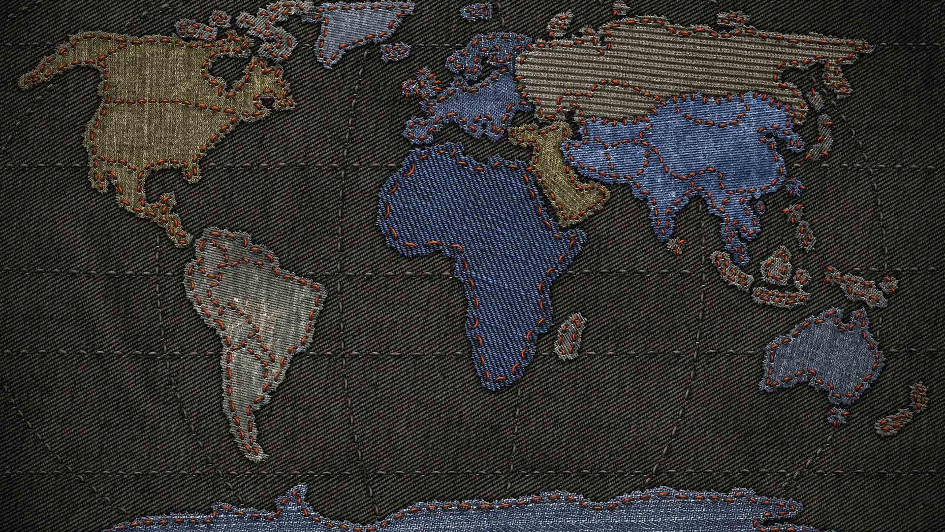 World desktop background map wallpapers for desktop wallpapercraft gumiabroncs Gallery