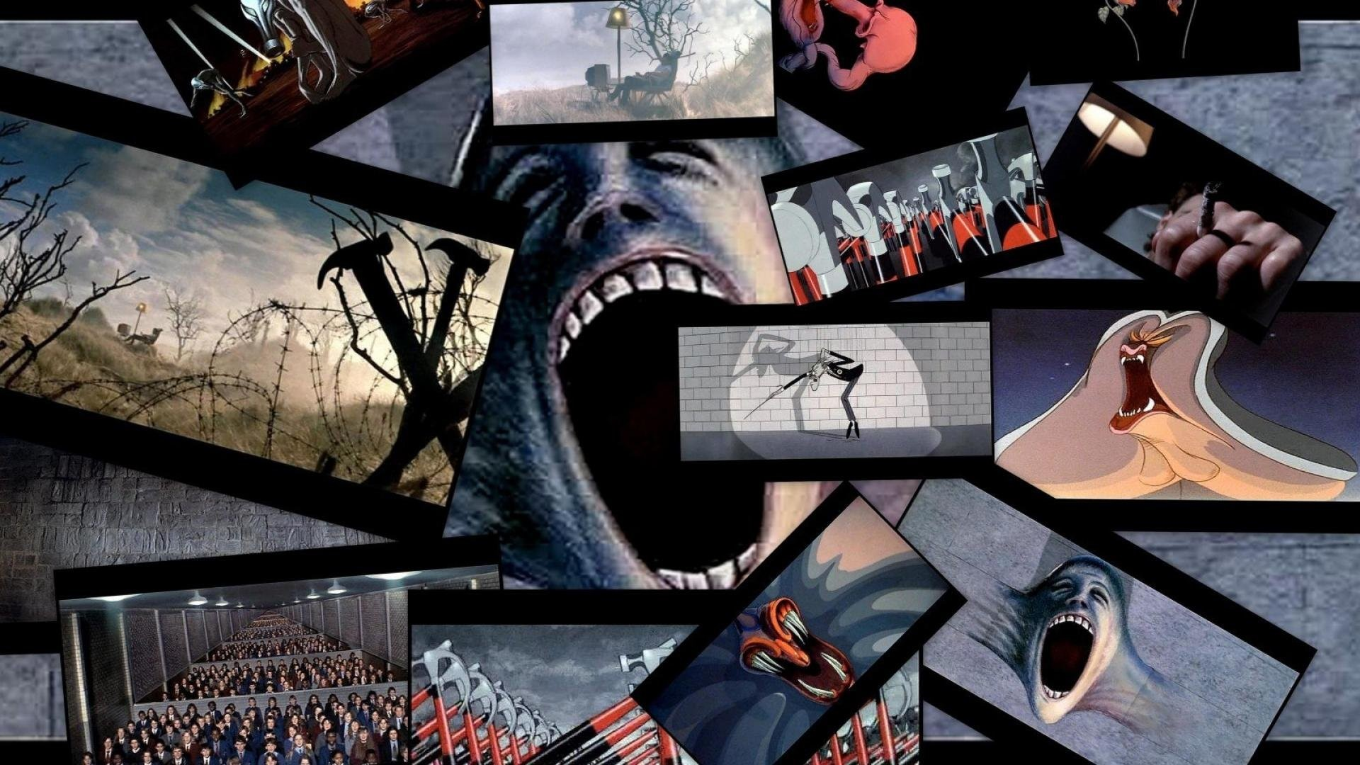 pink floyd and the wall Pink floyd - another brick in the wall (part ii) (letra e música para ouvir) - we don't need no education / we don't need no thought control / no dark.