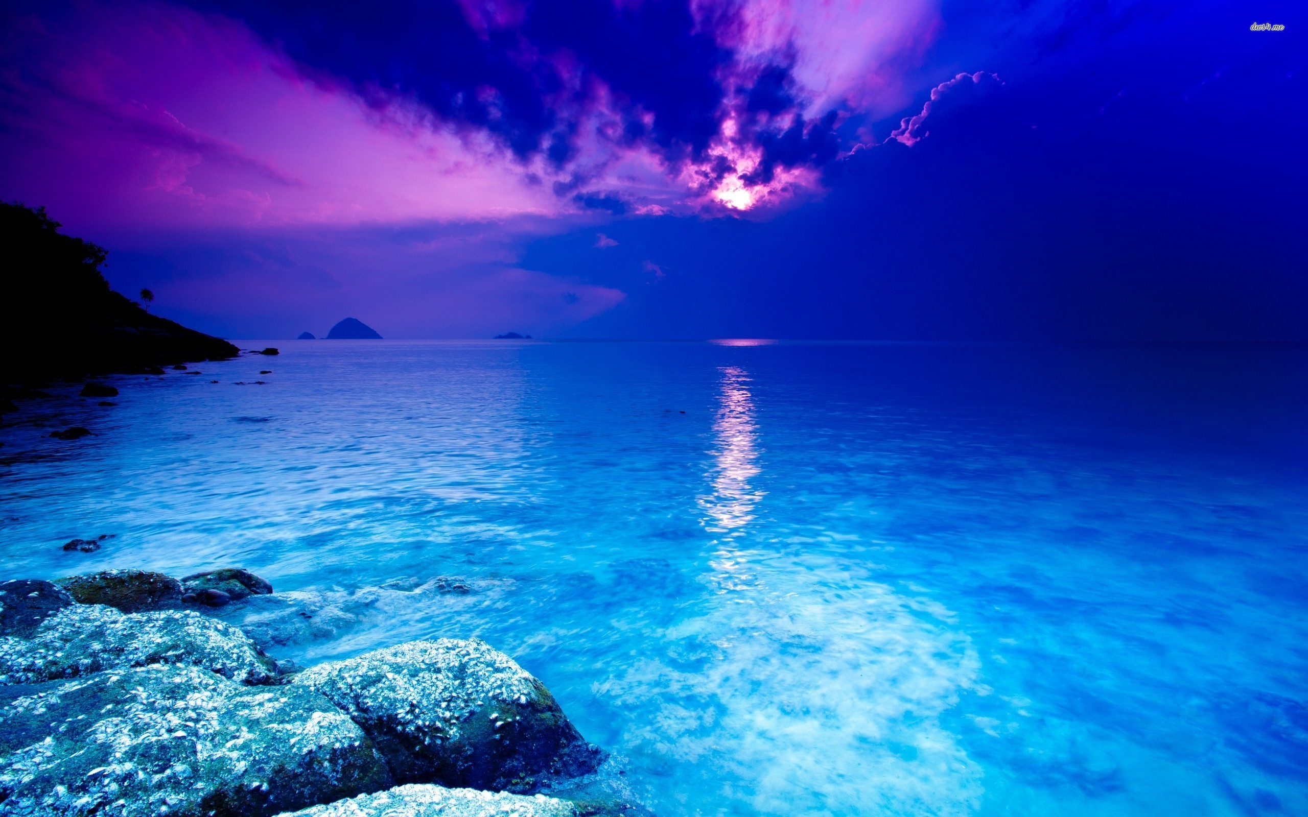 Blue ocean background wallpapertag - Most beautiful dark wallpapers ...