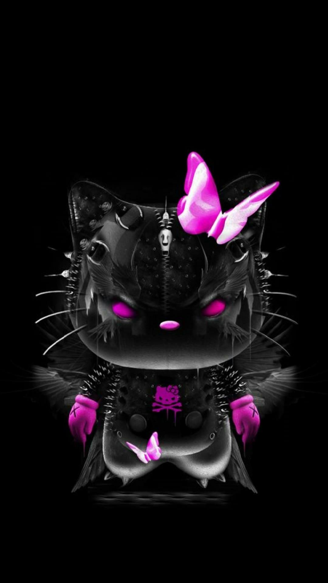 Popular Wallpaper Hello Kitty Dark Pink - 913238-download-hello-kitty-black-and-pink-wallpaper-1080x1920  Picture_619510.jpg