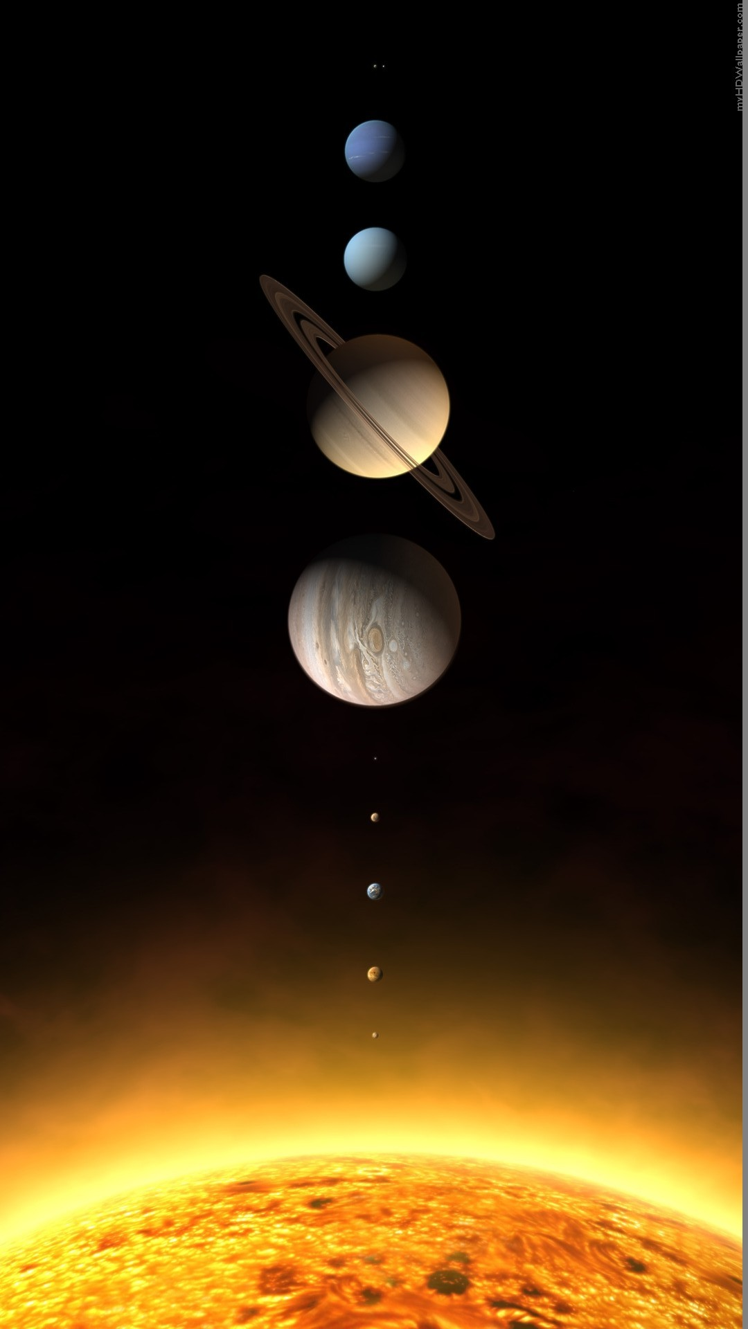 solar system iphone wallpaper - photo #6