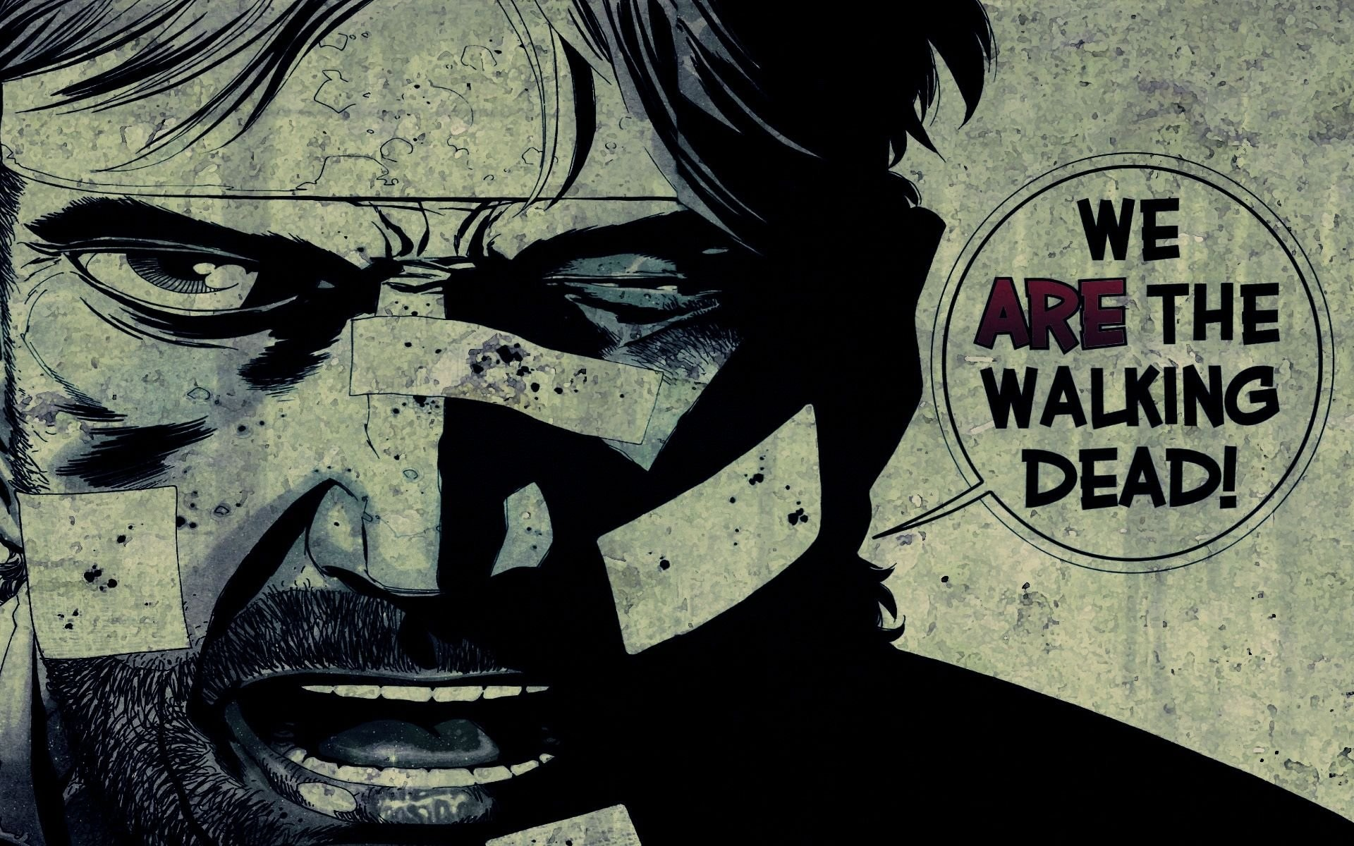 1920x1200 Walking Dead Comic We Are The Wallpaper Download Pix
