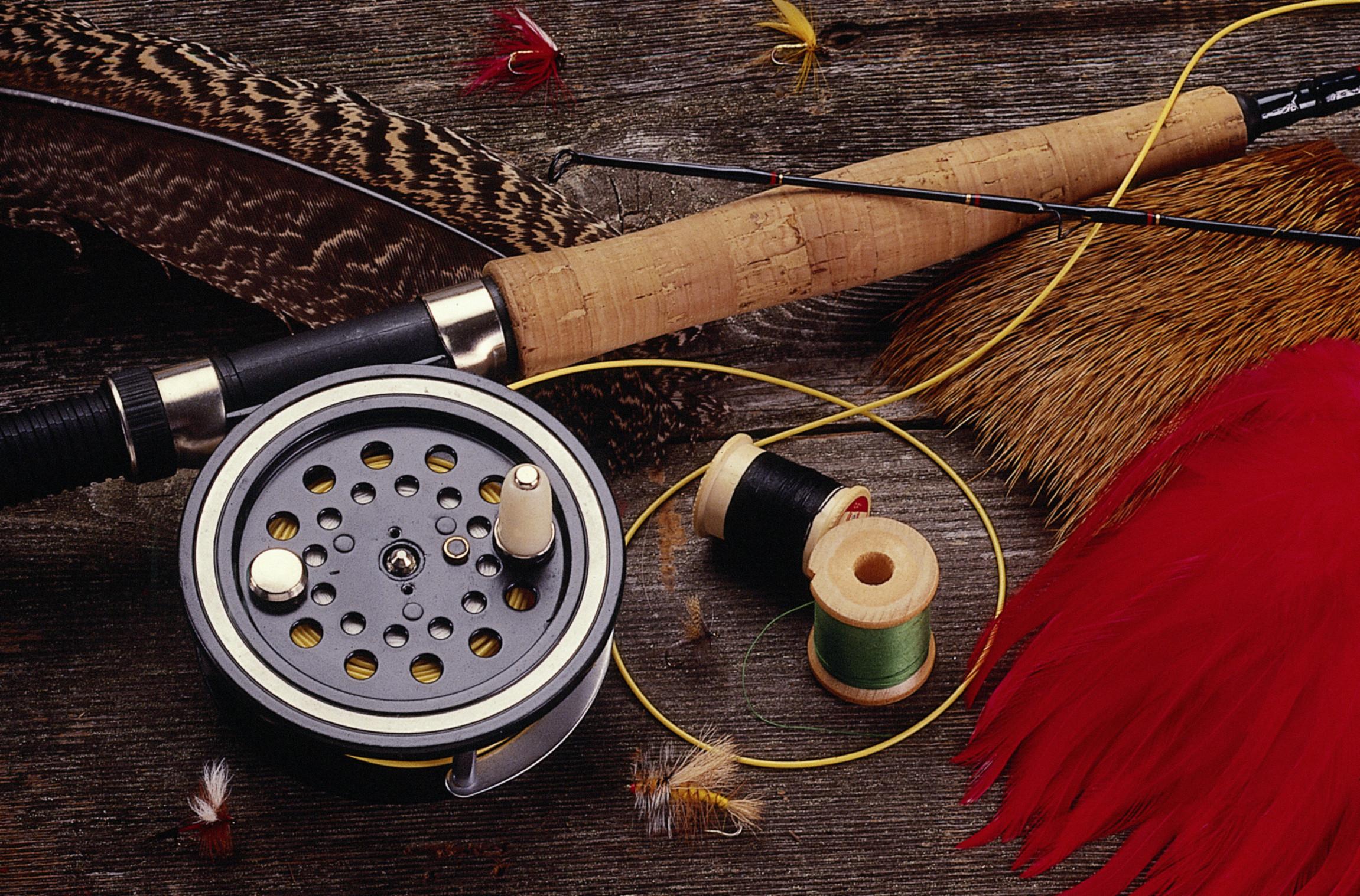 Рыбалка нахлыст своими руками 96