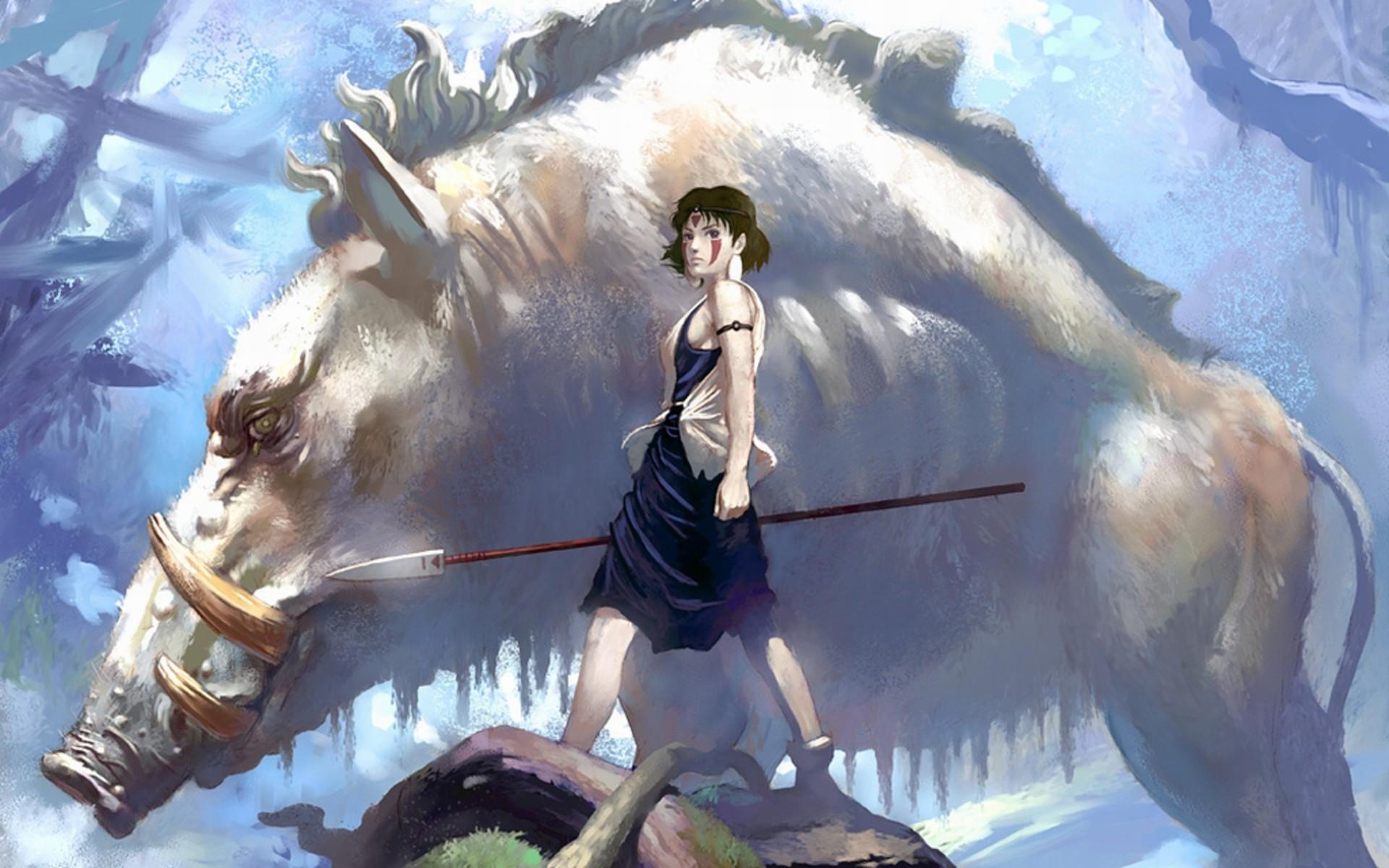 Mononoke Hime Wallpaper ①