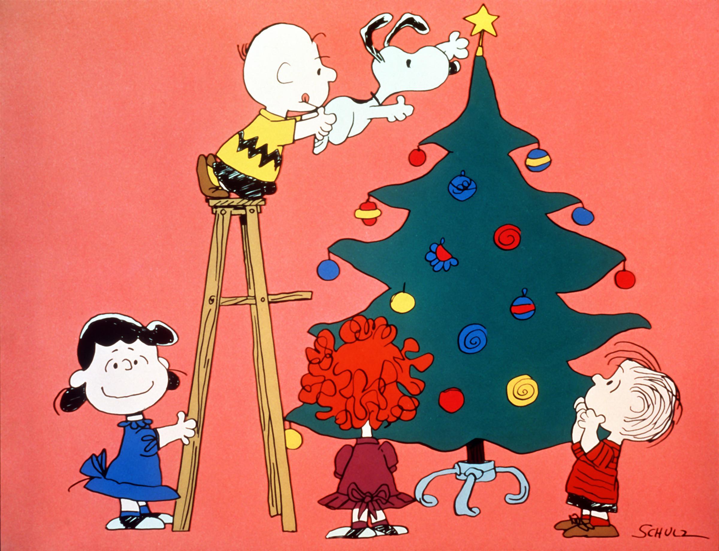 Charlie Brown Christmas Background Wallpapertag