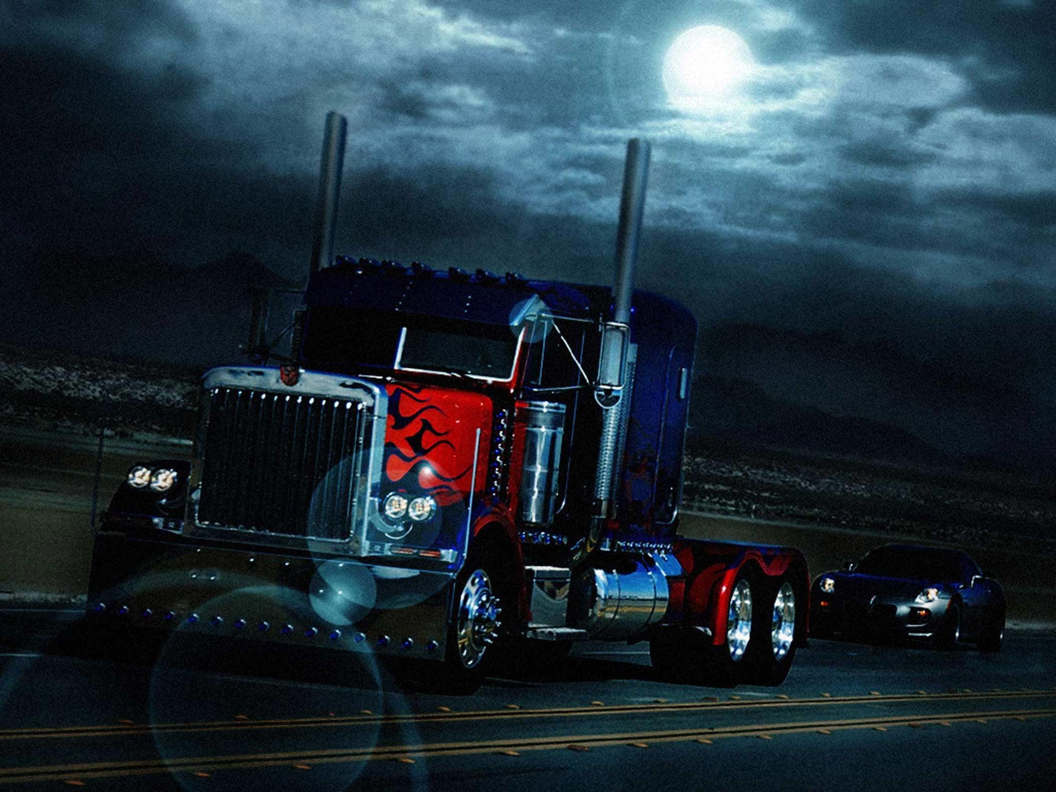 Optimus prime truck wallpaper wallpapertag - Transformers prime wallpaper ...