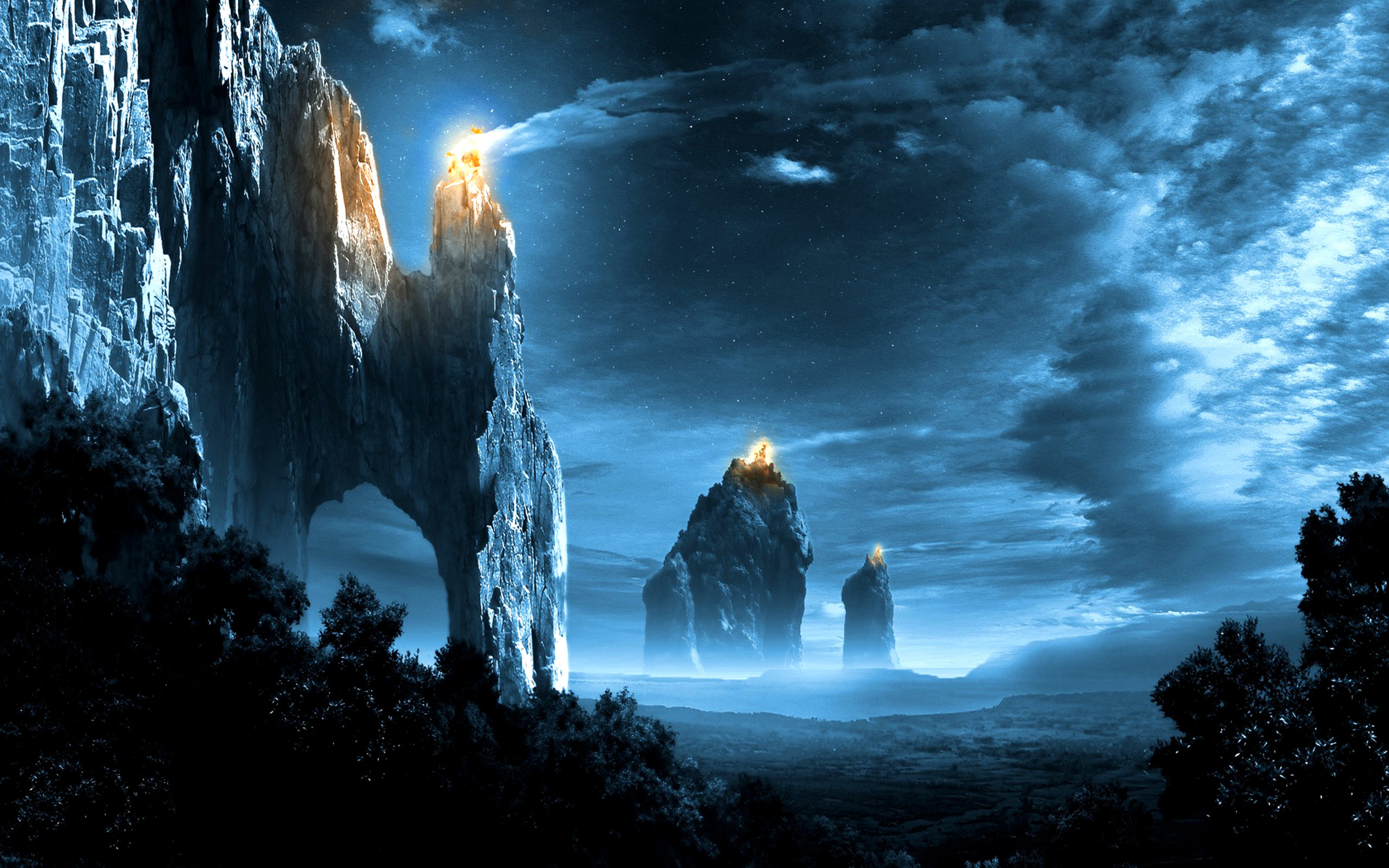 Cool fantasy backgrounds wallpapertag - Fantasy wallpaper anime ...