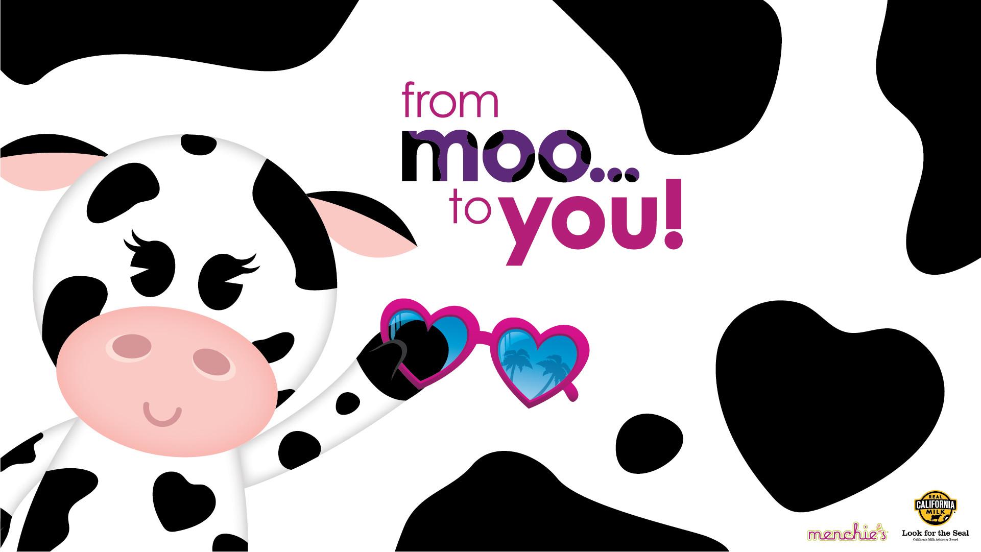 Cute Cow Wallpaper ①