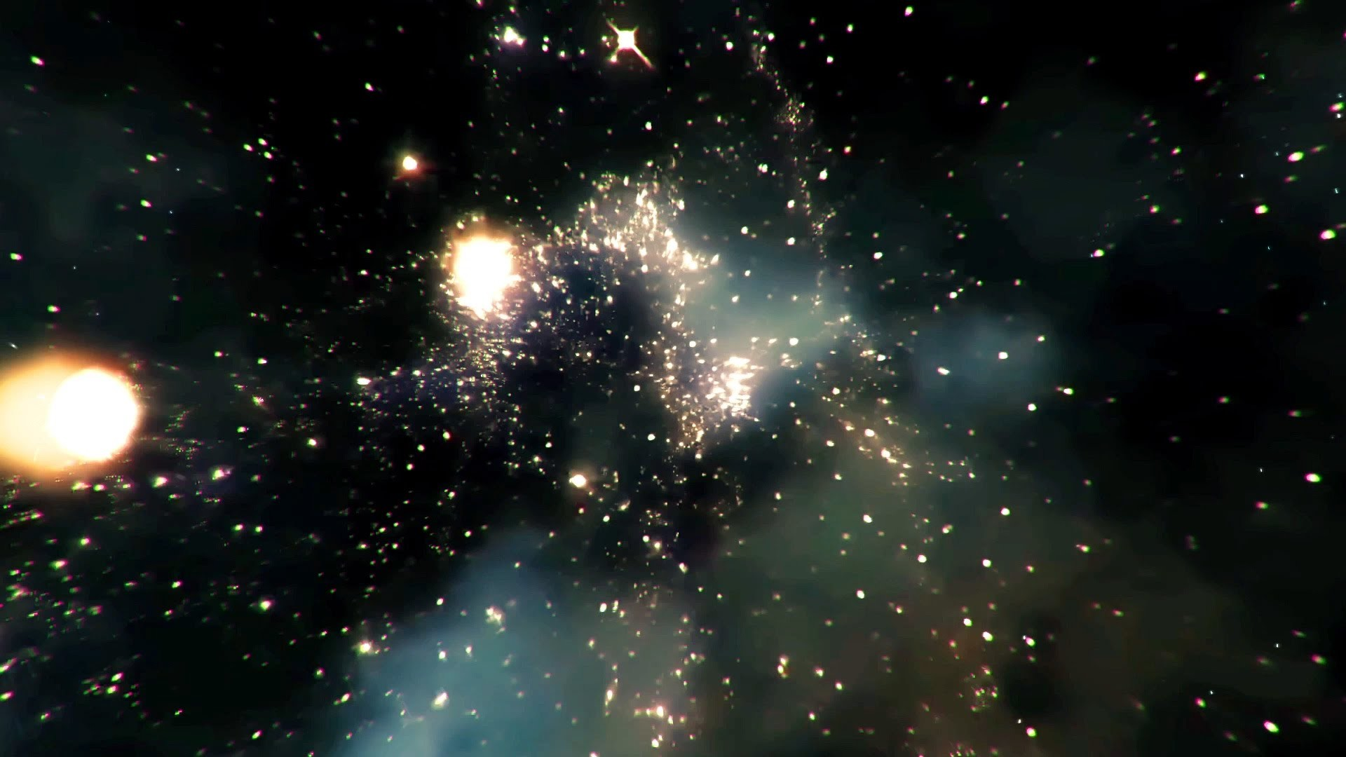 countless galaxies video - HD 1280×800