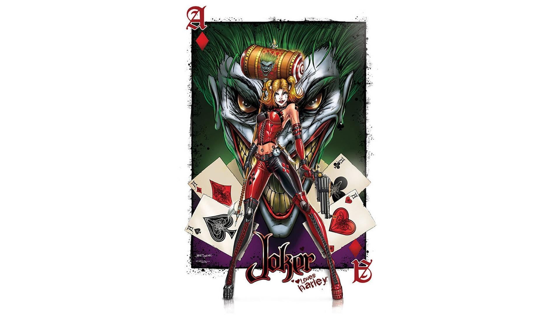 Harley Quinn And Joker Wallpaper ·① Download Free