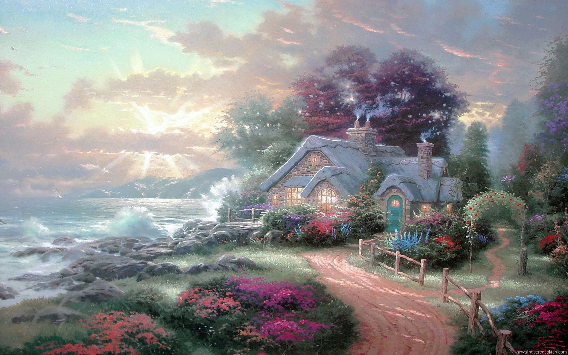 Thomas kinkade wallpapers for desktop 1920x1200 hd wallpapers thomas kinkade 1920 x 1080 1268 kb jpeg hd wallpapers voltagebd Gallery