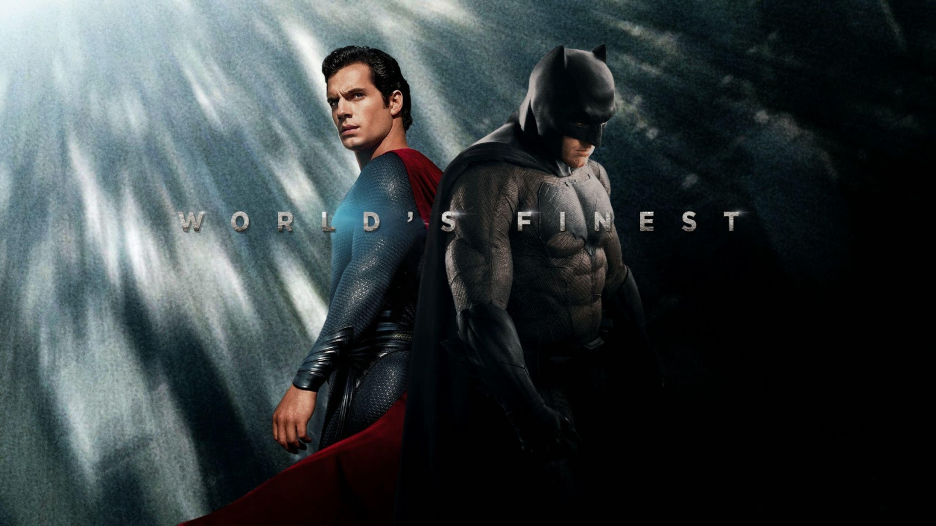3840x2160 Worlds Finest Batman V Superman Movie 4K Wallpaper Download Super Heroes Wallpapers