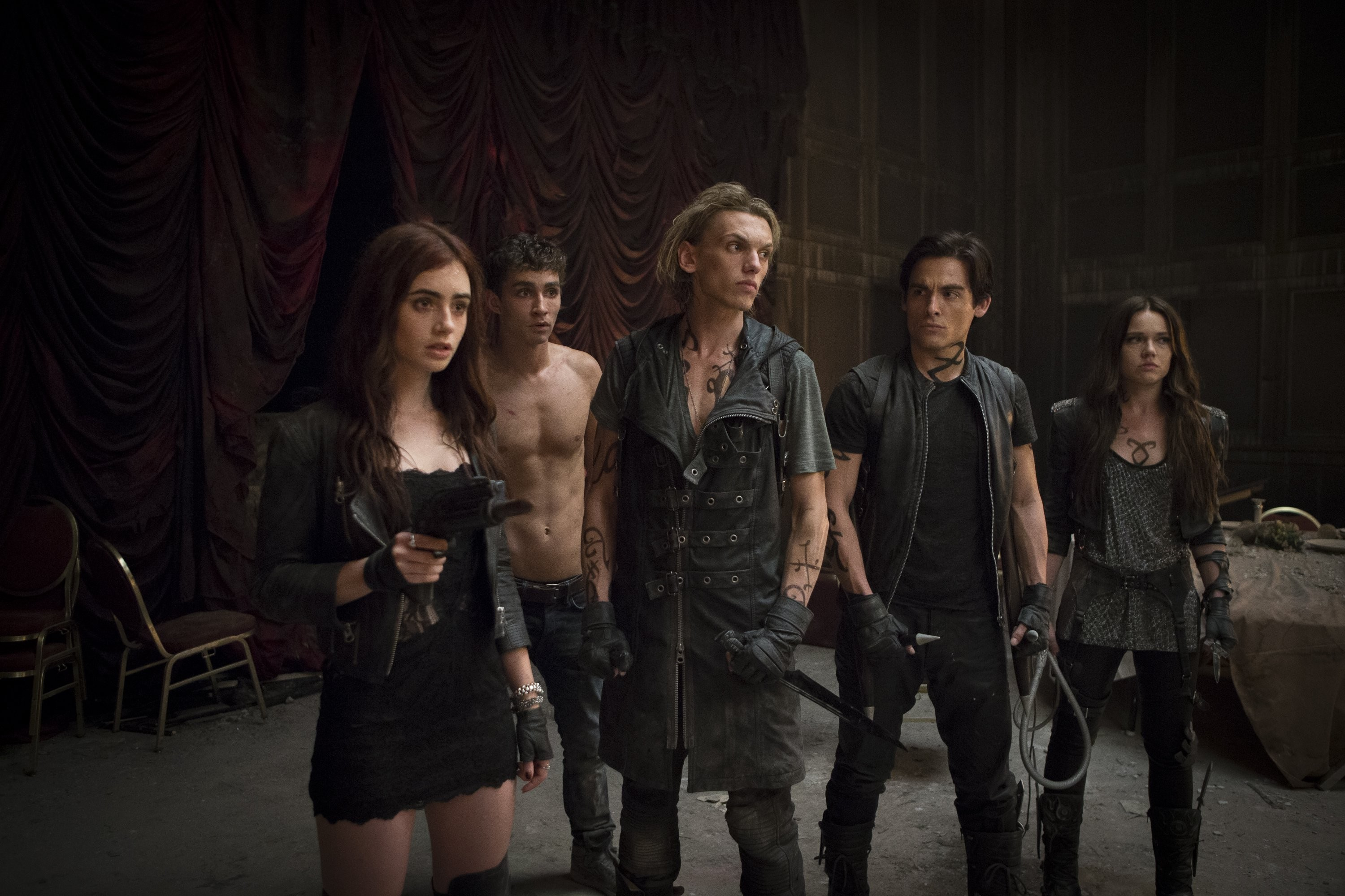Read the The Mortal Instruments City of Bones movie synopsis view the movie trailer get cast and crew information see movie photos and more on Moviescom