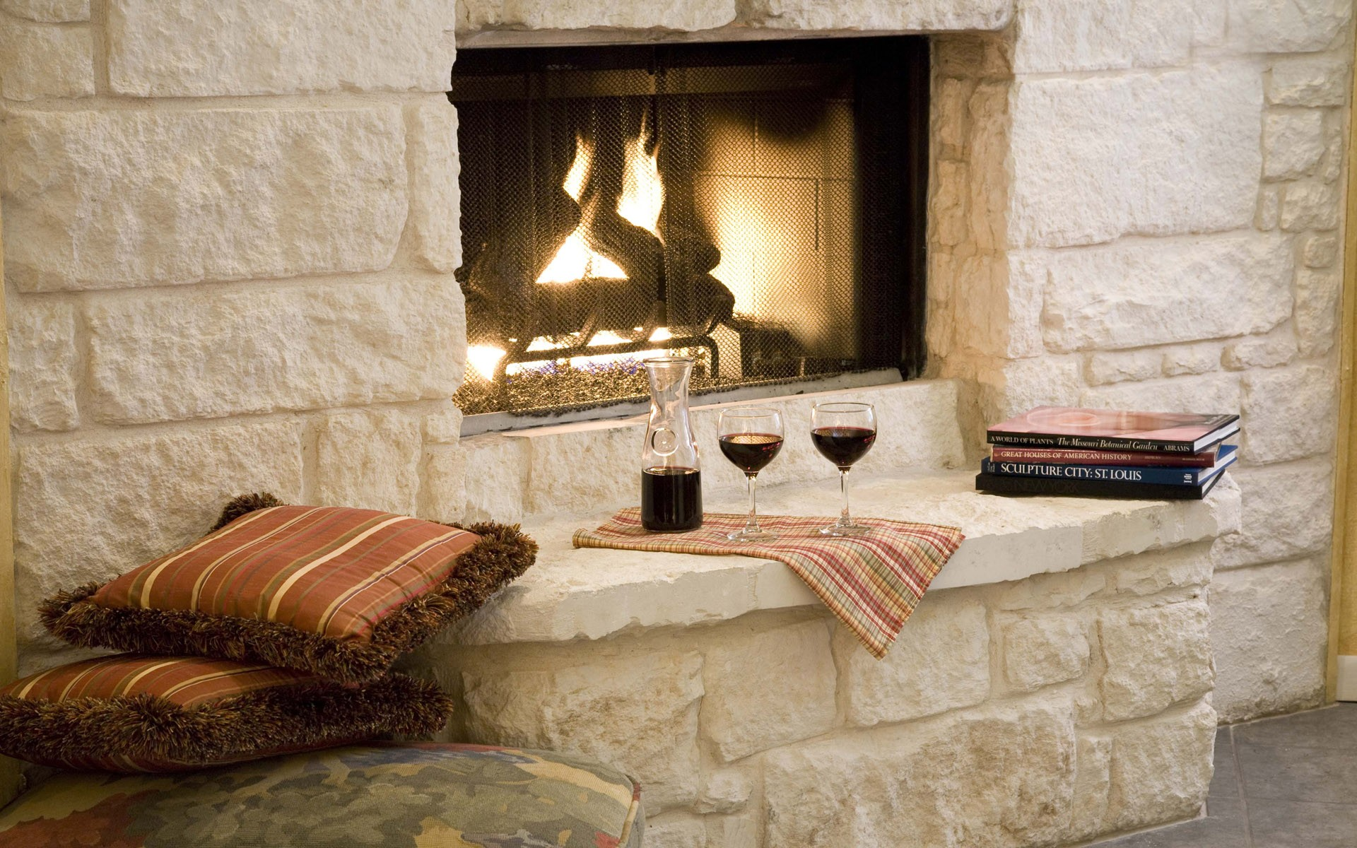 Free Fireplace Wallpaper: Fireplace Wallpaper ·① Download Free Stunning HD