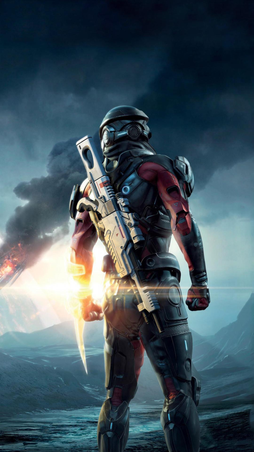 Mass Effect Mobile Wallpaper ·① WallpaperTag