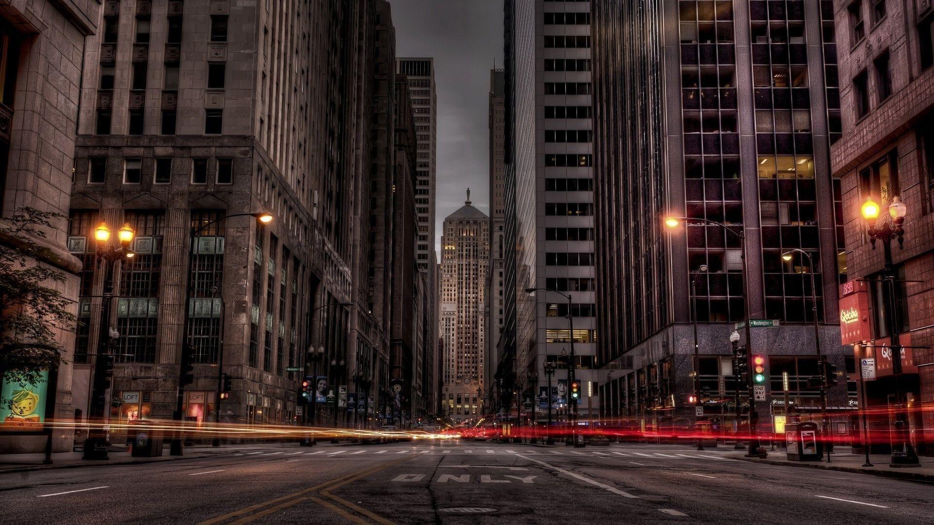 background city
