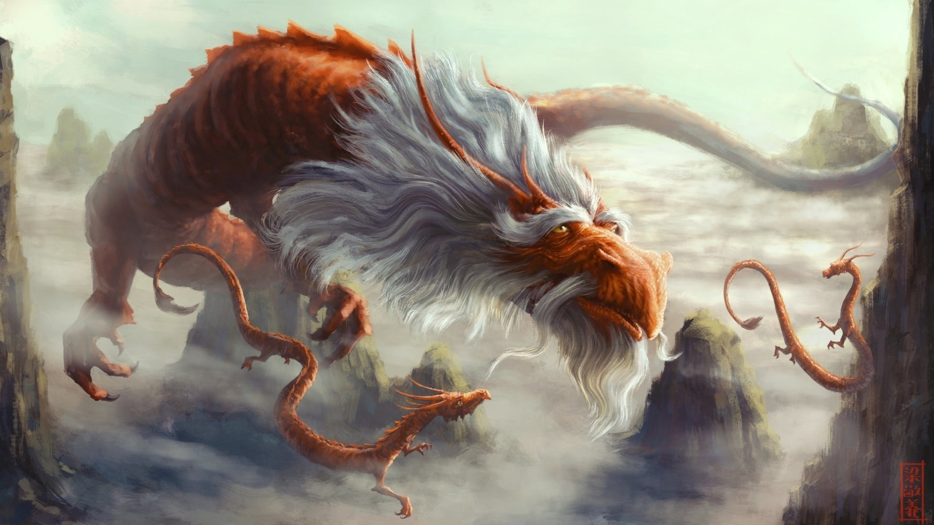 Chinese dragon wallpaper wallpapertag - Dragon backgrounds 1920x1080 ...