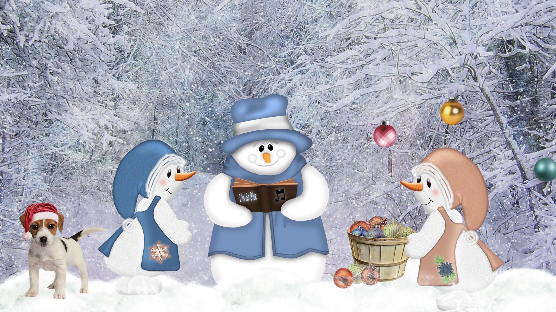 Новые Зимние Обои На Рабочий Стол
