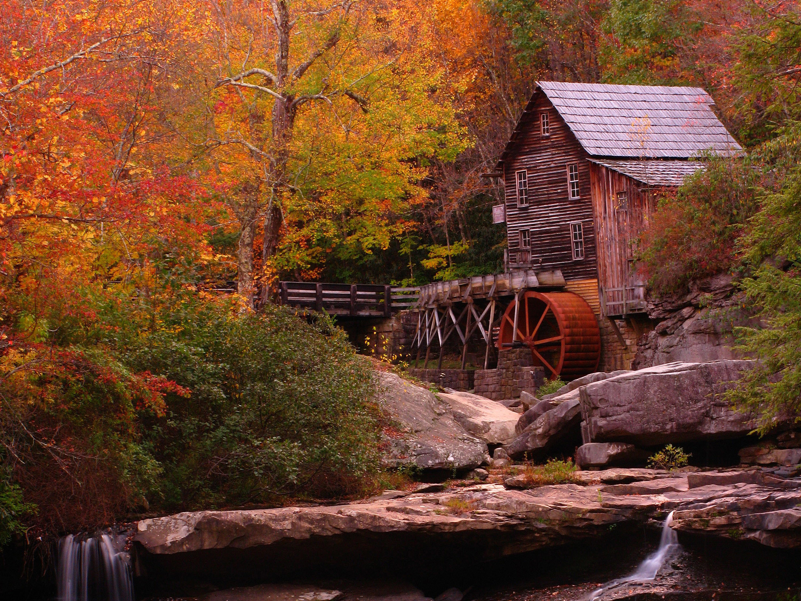 Fall Landscape Wallpaper ·①