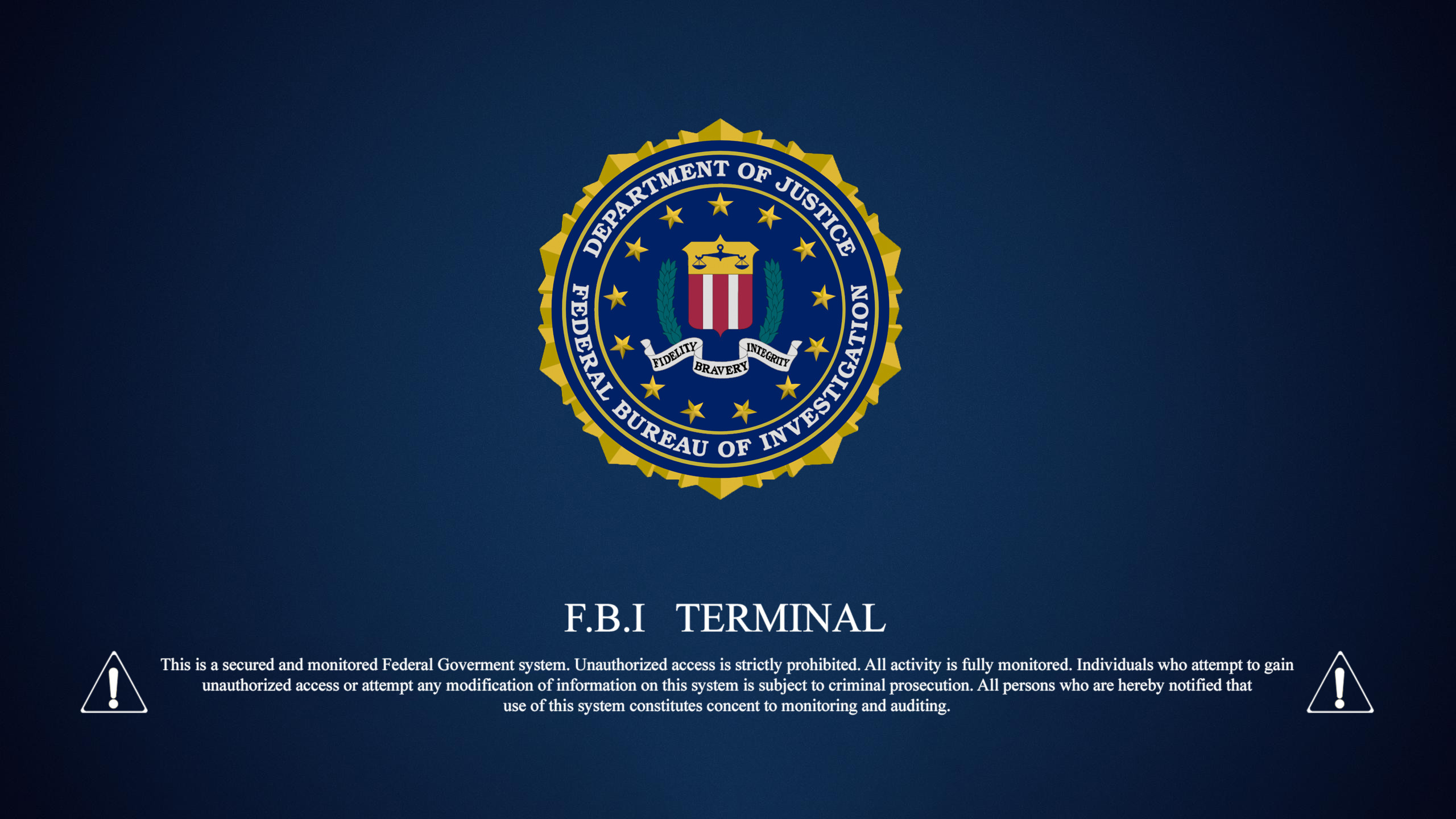 fbi wallpaper ·①