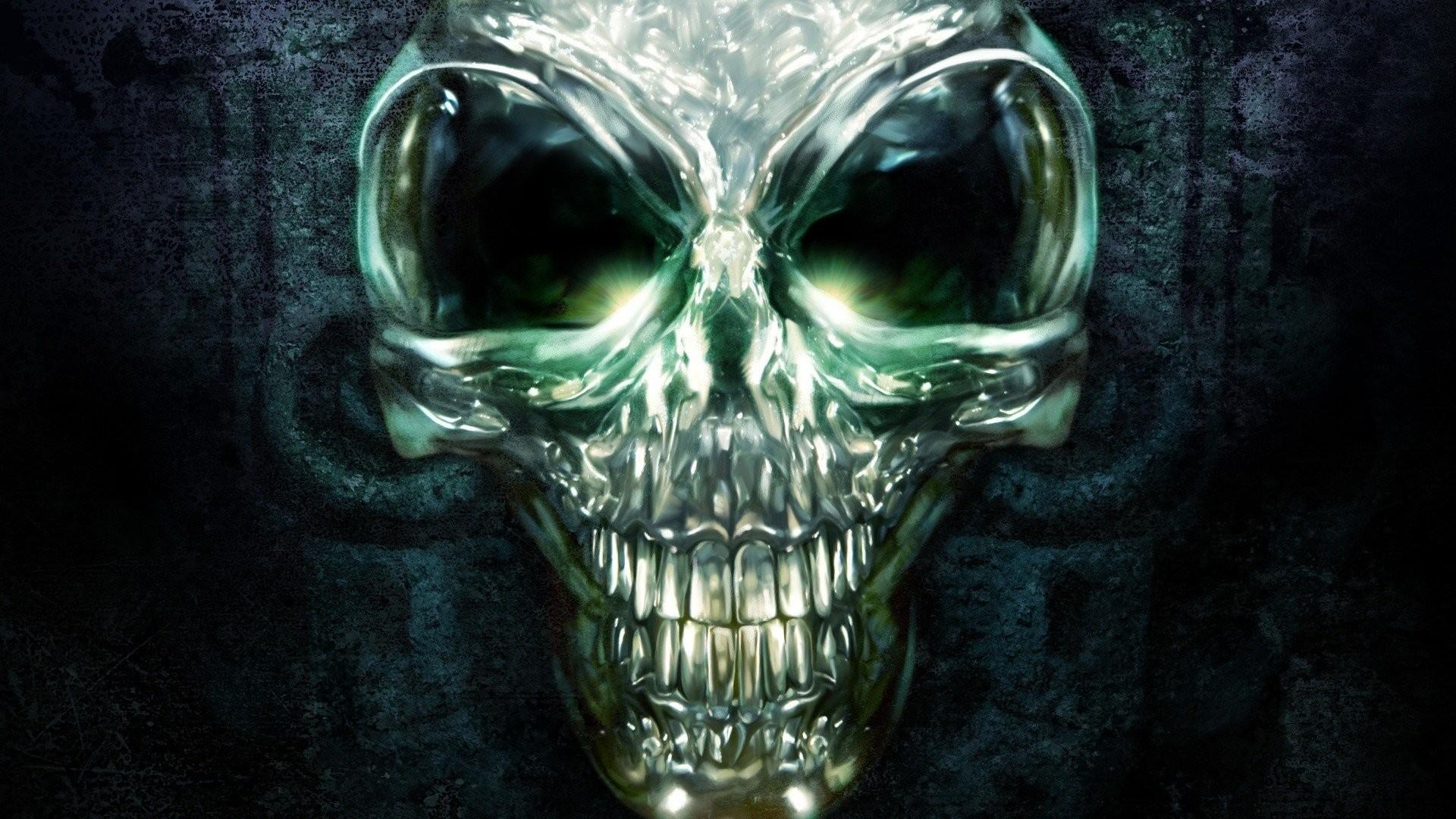 evil demon skulls wallpaper - photo #12