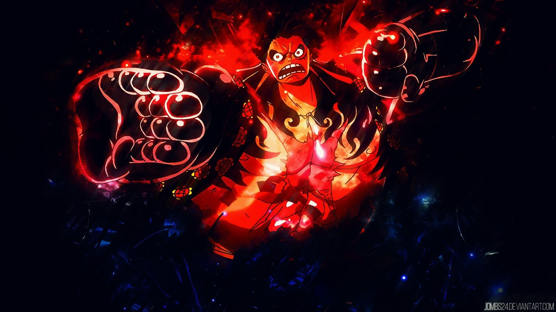 Luffy Gear 4 Wallpapers Wallpapertag