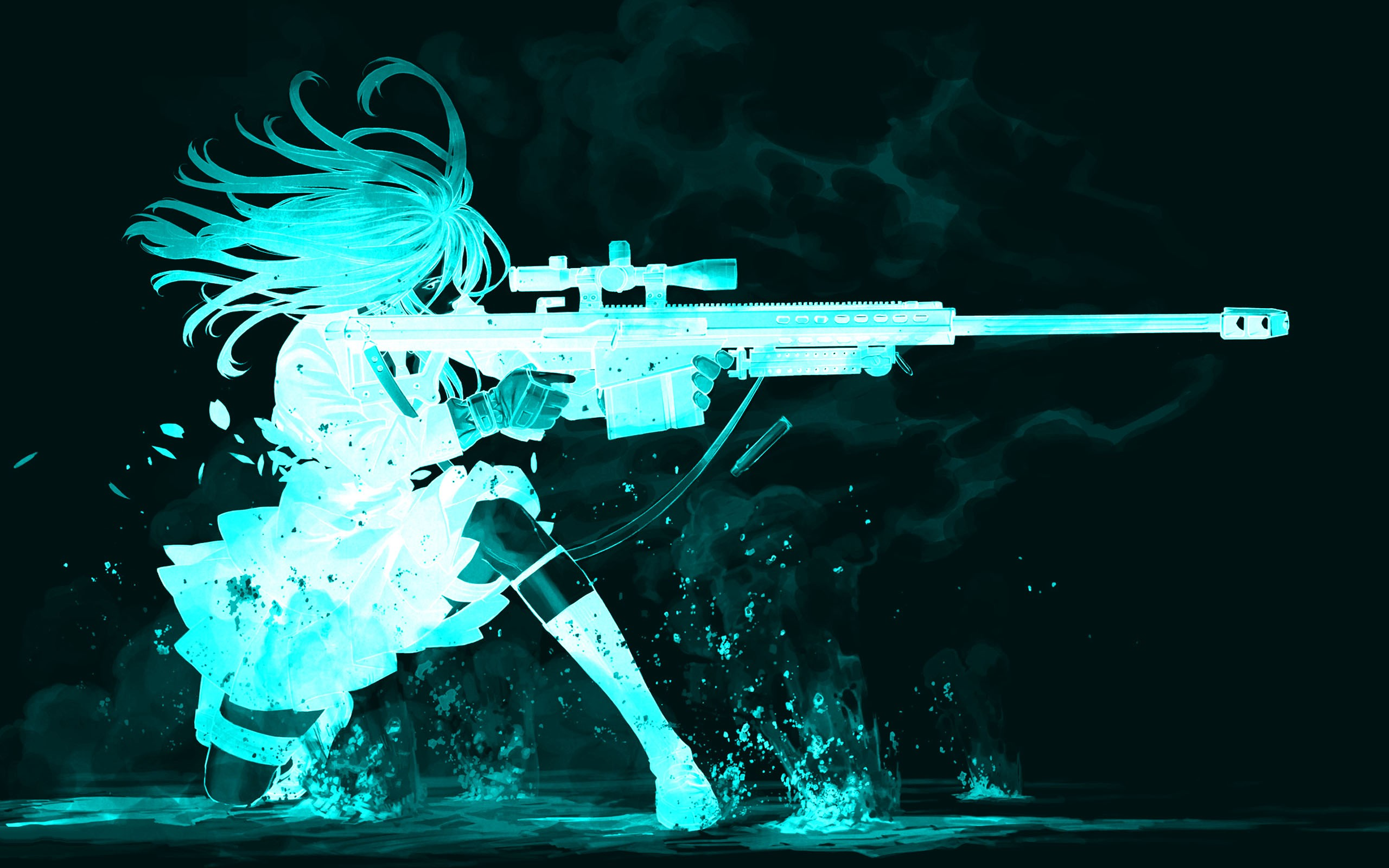 60 cool anime backgrounds download free cool full hd - Blue anime wallpaper ...