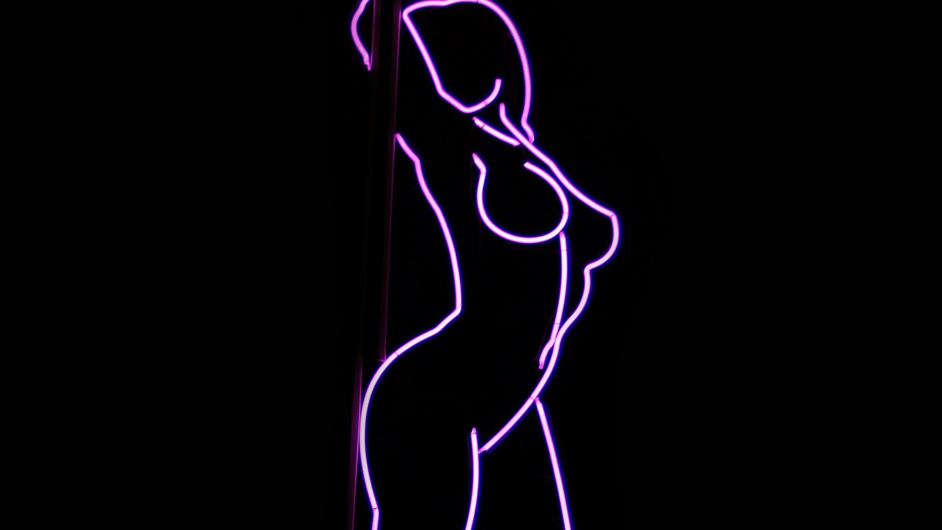 Neon light porn pics
