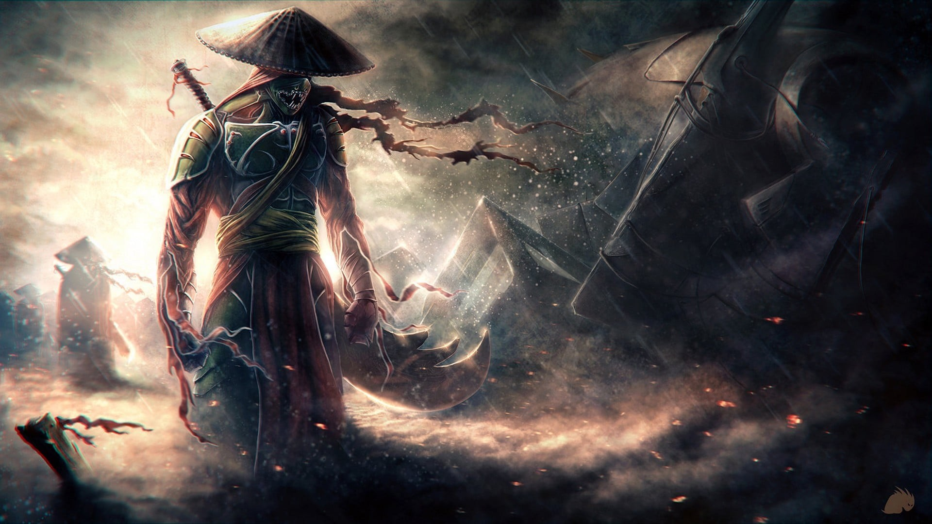 Epic Samurai Hd Wallpaper 1080p