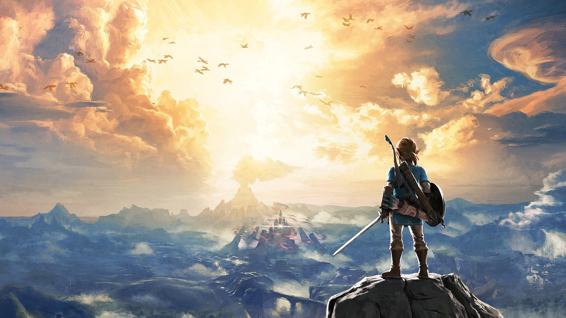 Breath Of The Wild Backgrounds: Zelda Breath Of The Wild Wallpaper ·① Download Free Cool