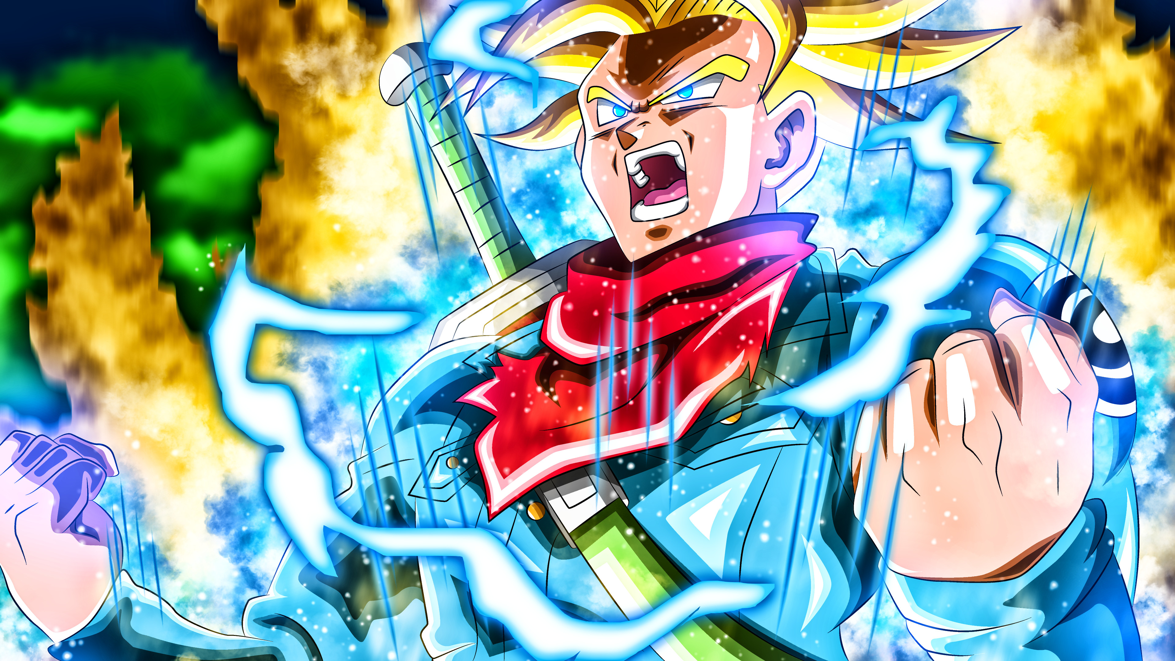 Future trunks wallpapers wallpapertag - Dragon ball super background music mp3 download ...
