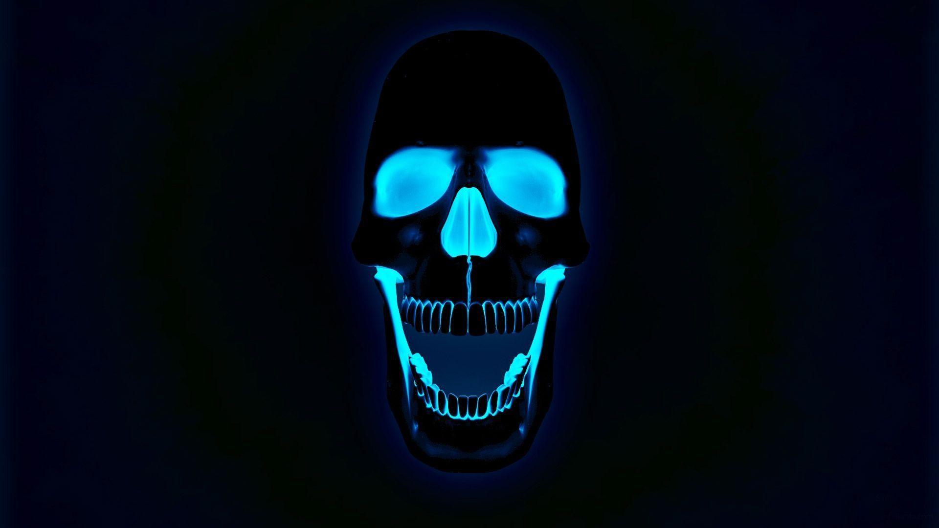 1920x1080 Glowing Neon Skull Photos Free HD Wallpapers Amazing