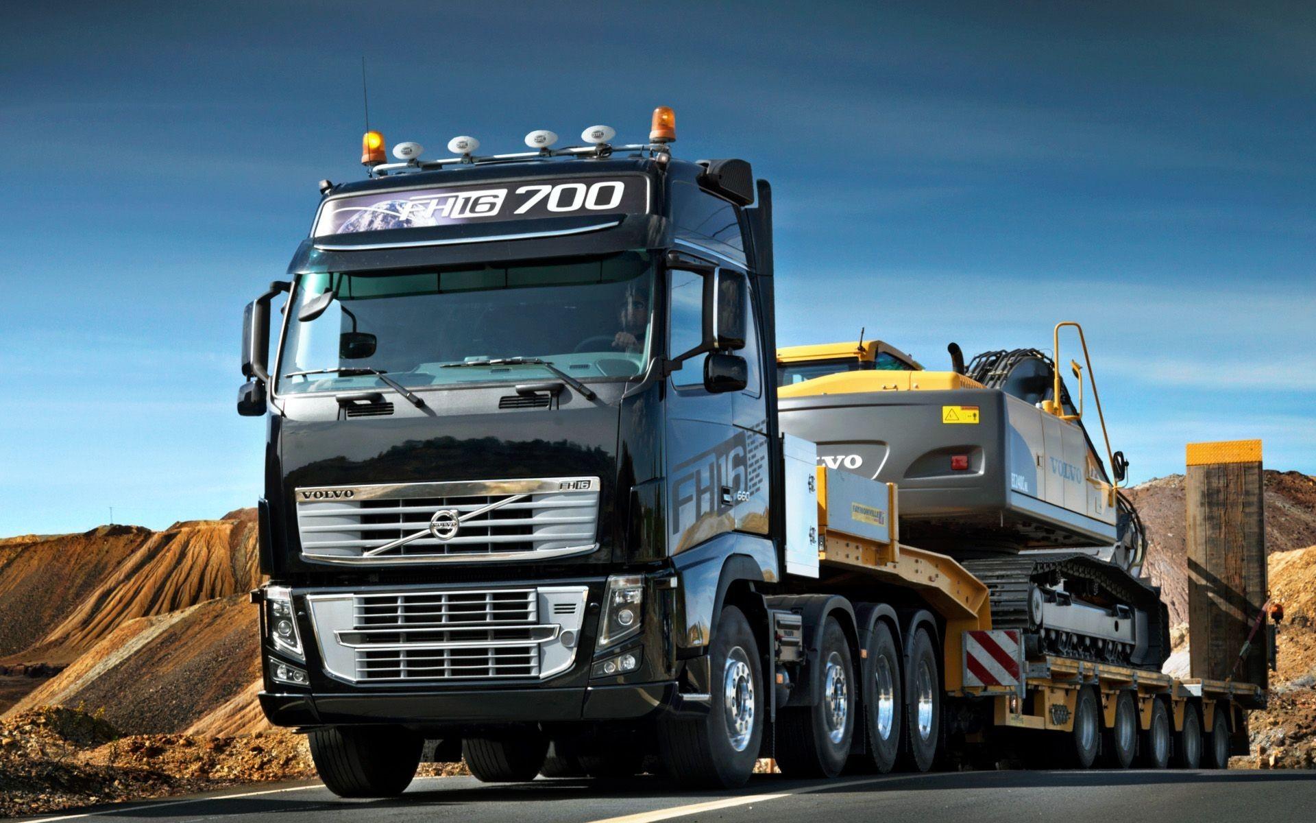 Volvo 2018 Truck Wallpaper Mobileu