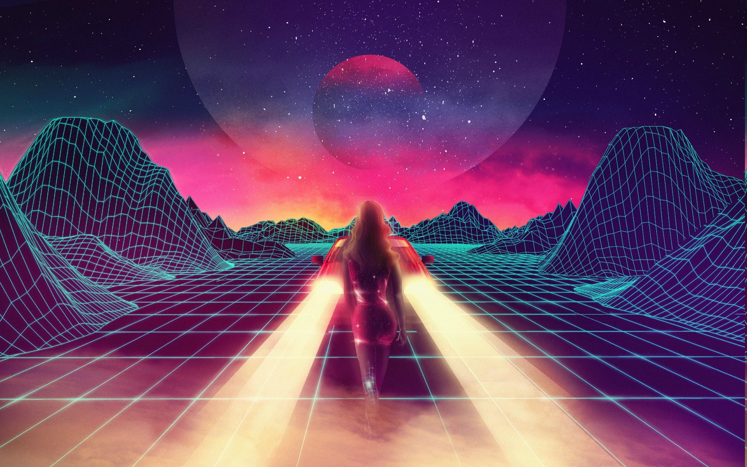 Retro Iphone 6 Wallpaper Hd: Synthwave Wallpaper ·① Download Free High Resolution