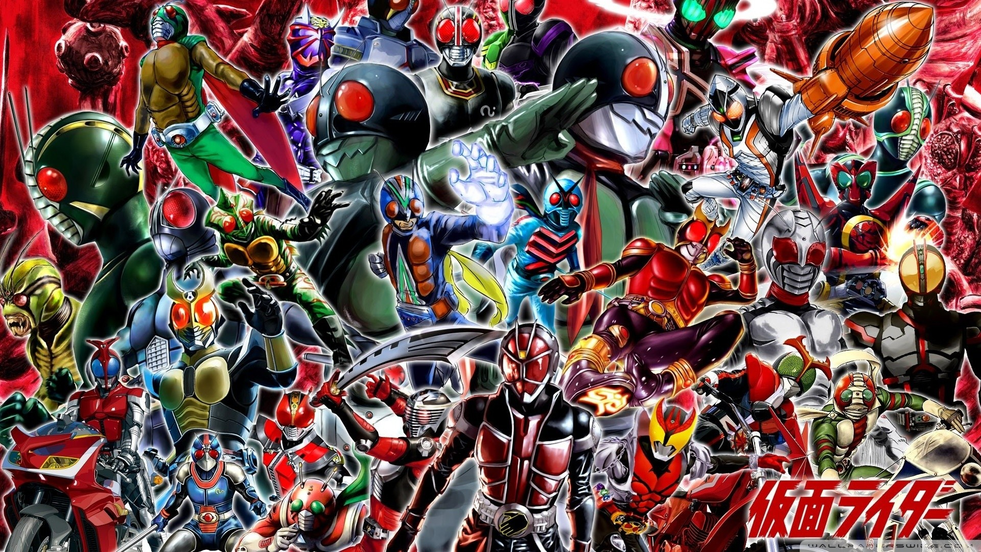 Kamen Rider Wallpapers Wallpapertag