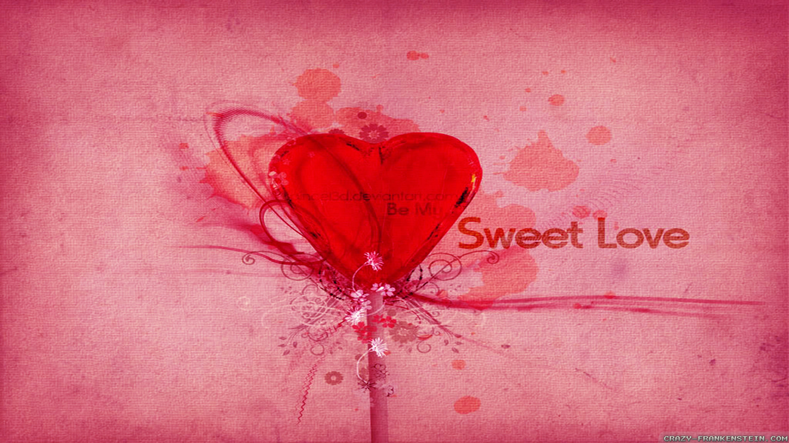 Sweet Love Wallpaper ①