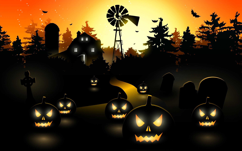 Halloween PC Wallpaper ·①