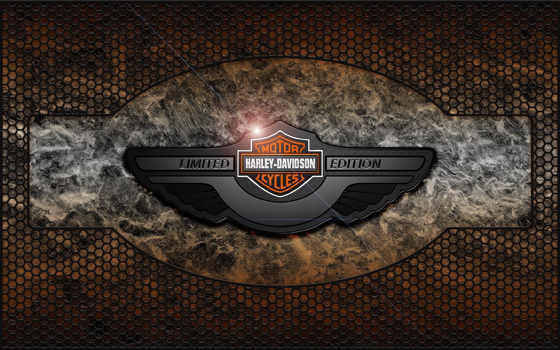 Harley Davidson Logo Wallpaper Wallpapertag