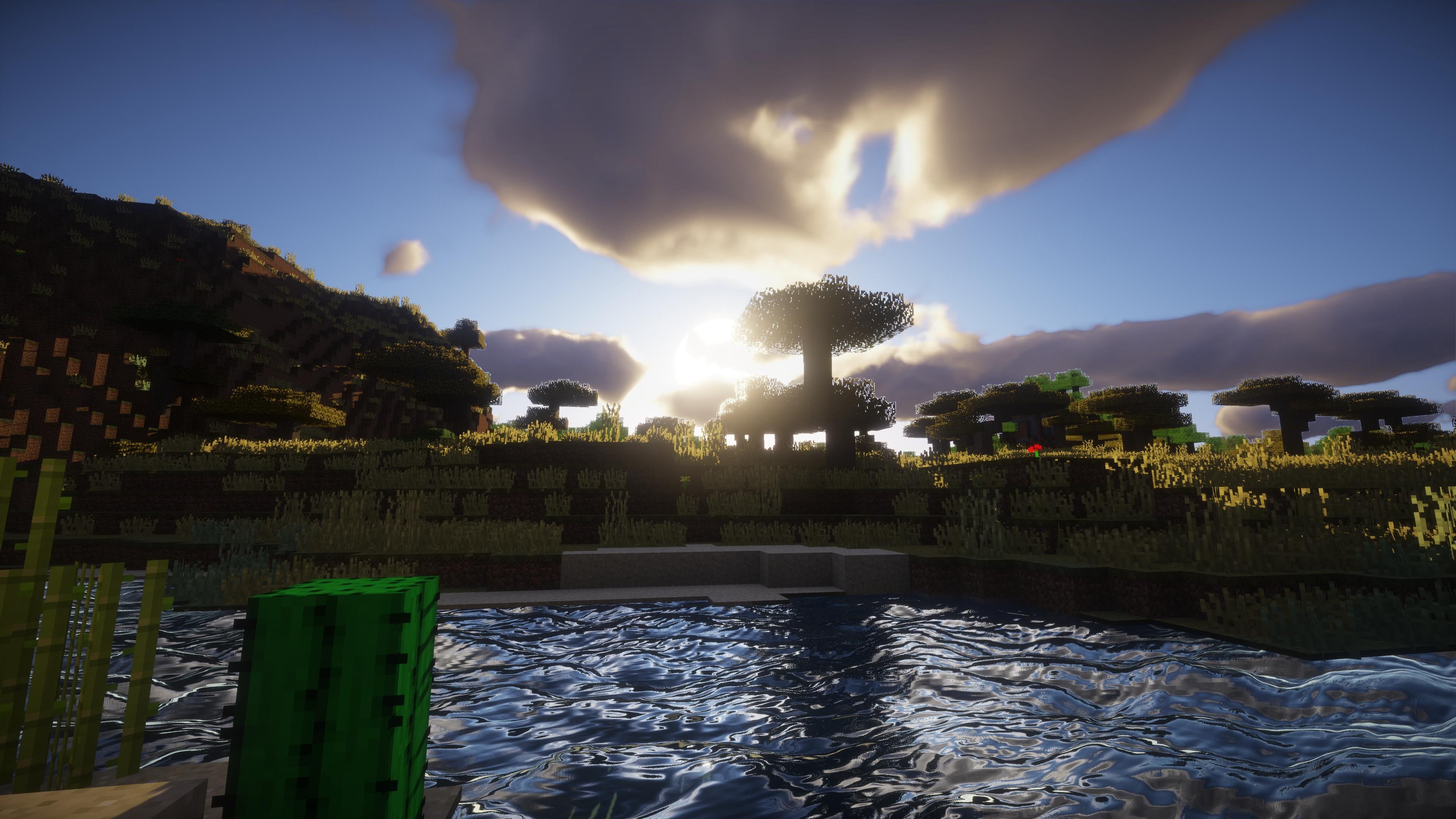 Minecraft Shaders Background 1 Download Free Full HD Wallpapers