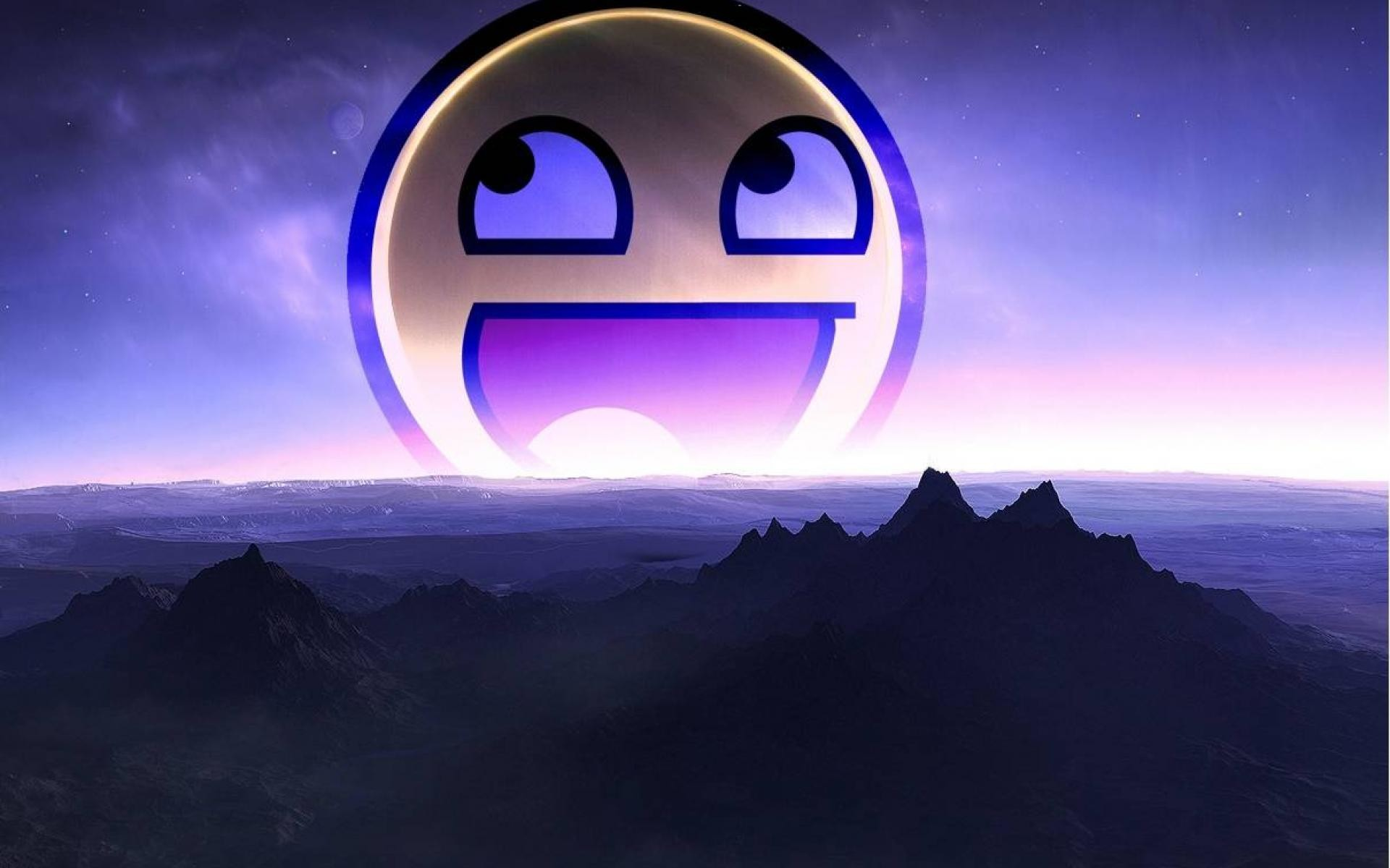 Smiley Faces Wallpaper ·①