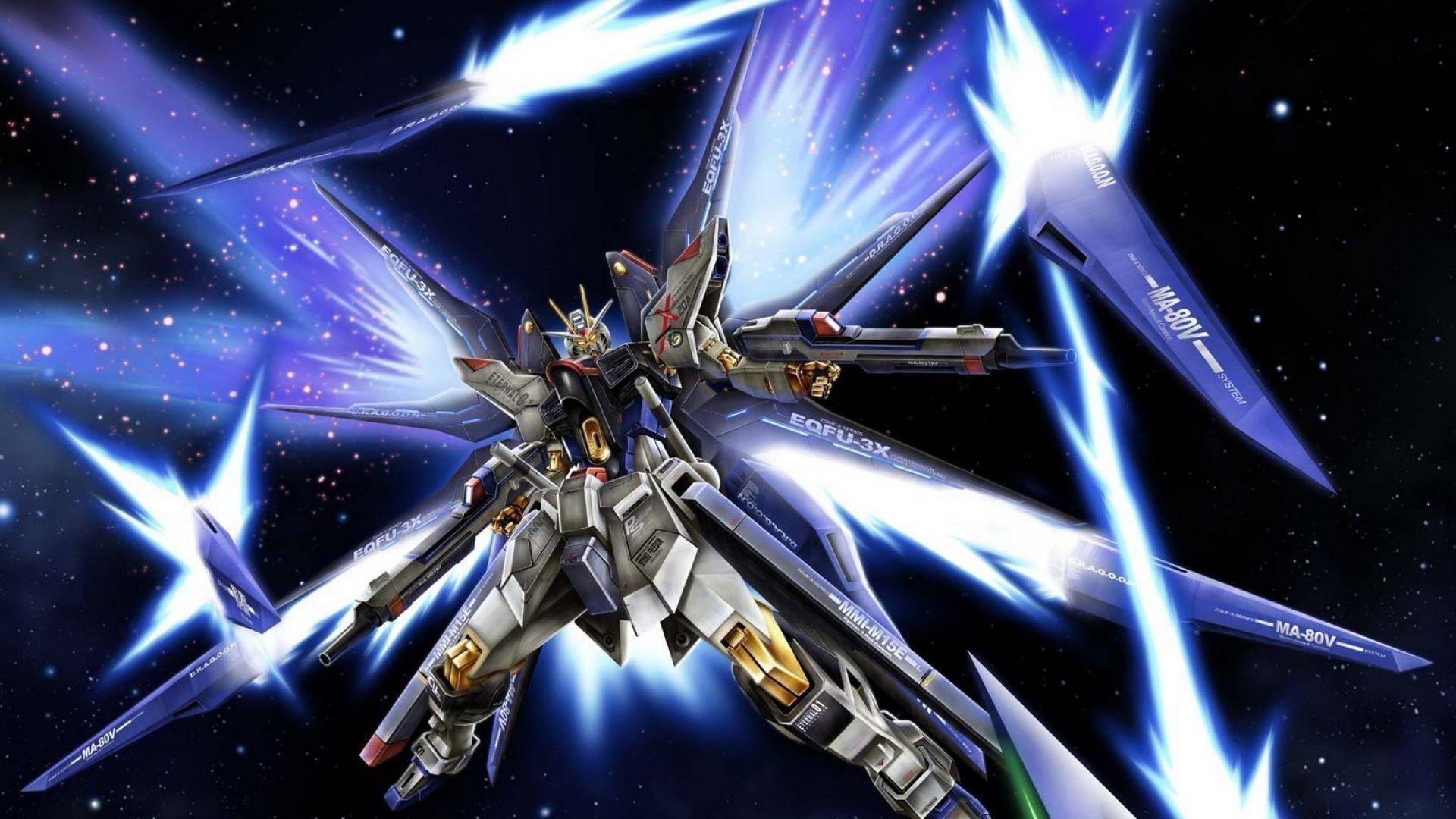 Burning Gundam Wallpaper Wallpapertag