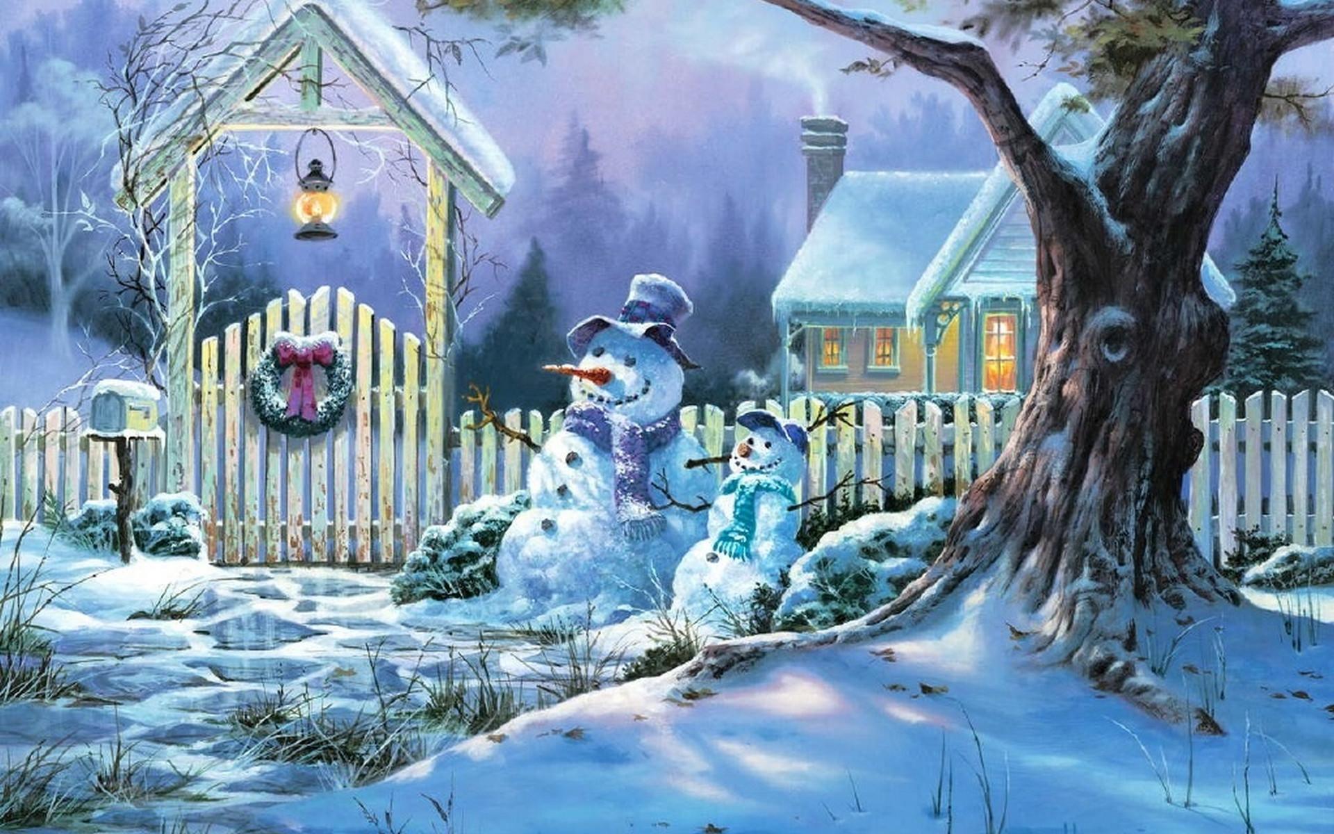 christmas snow scene wallpaper  u00b7 u2460 wallpapertag