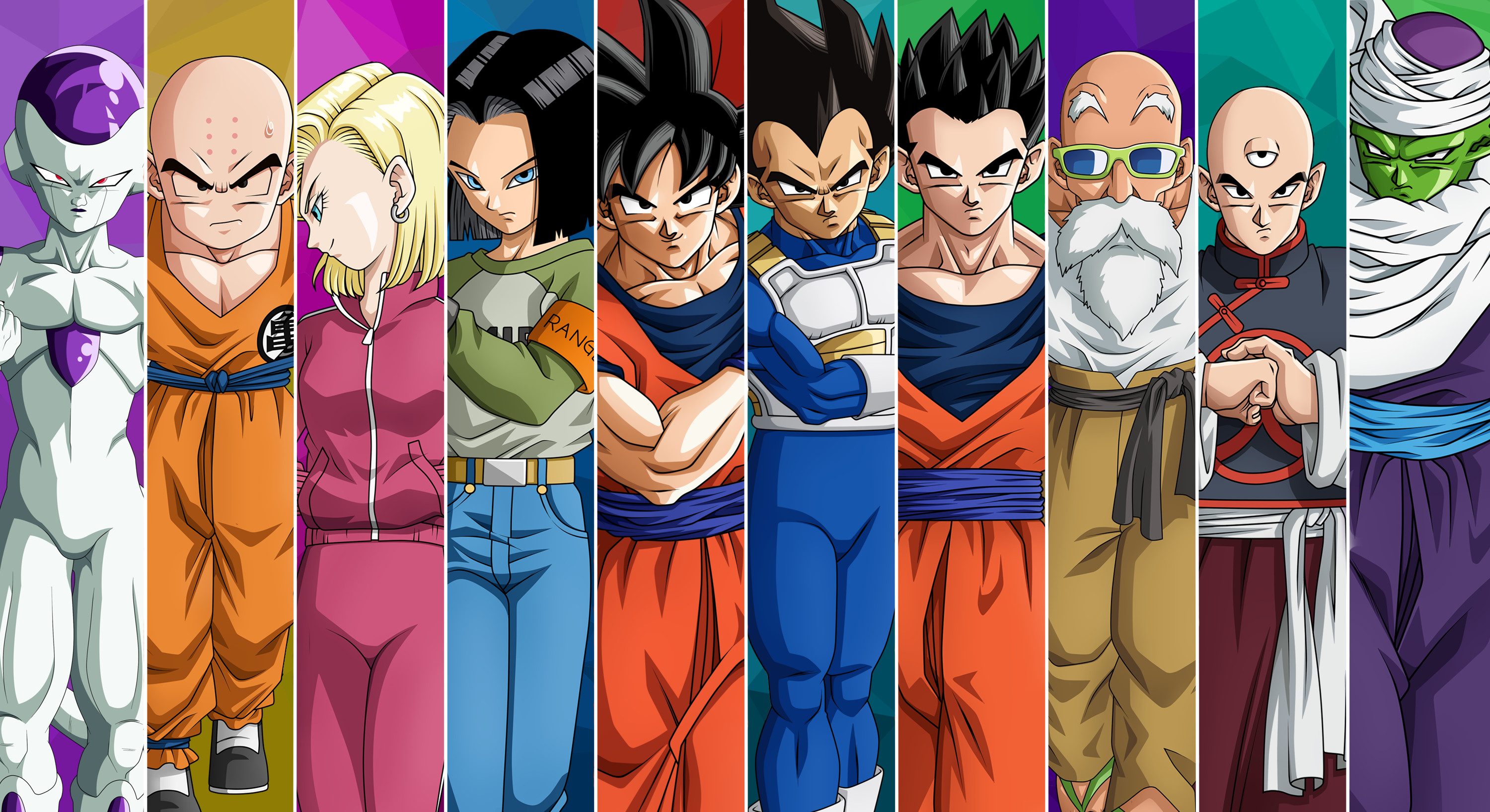 3000x1636 HD Wallpaper | Background ID:831309. Download. Dragon Ball ...