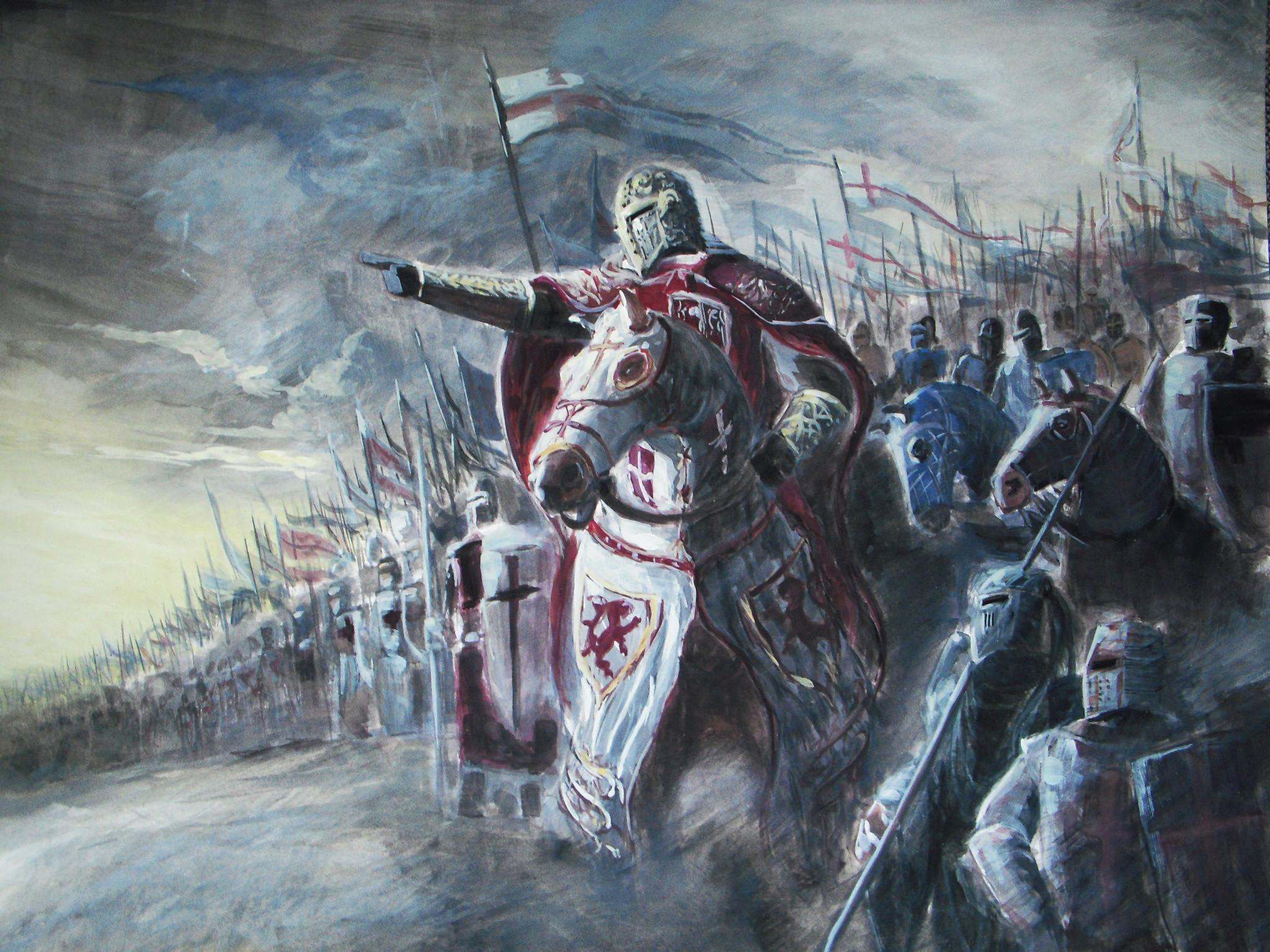 картинки на рабочий стол крестоносцы