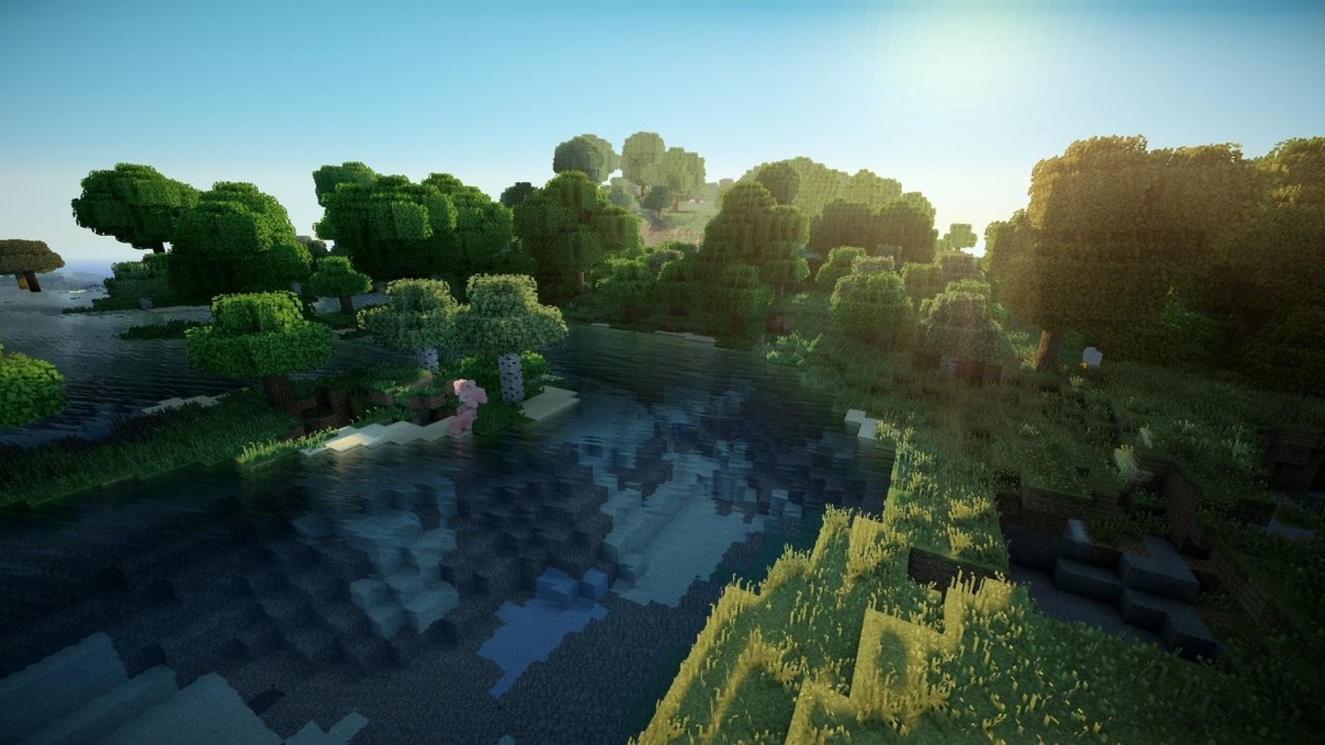 1920x1080 Minecraft HD Wallpaper · Download .