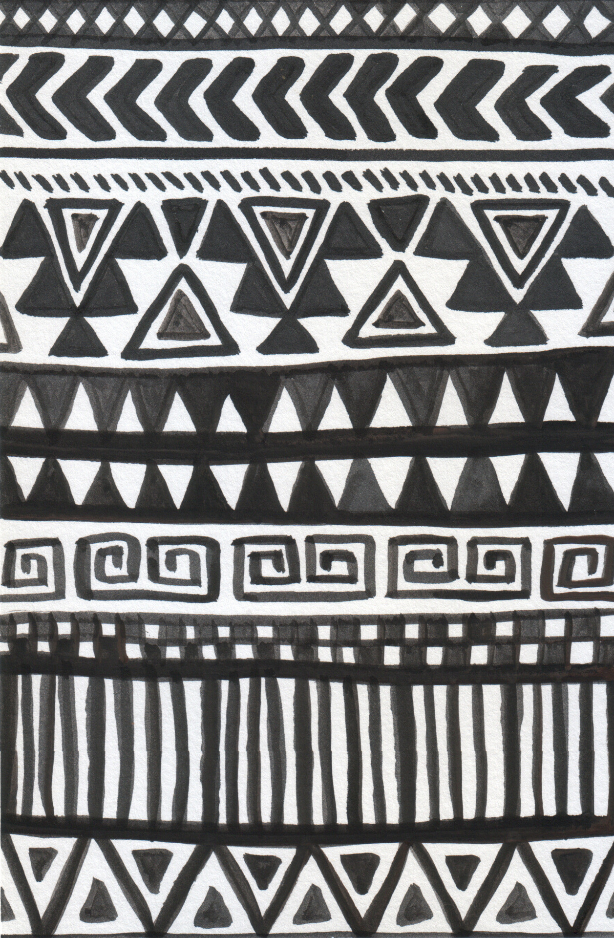 african tribal patterns - 590×901