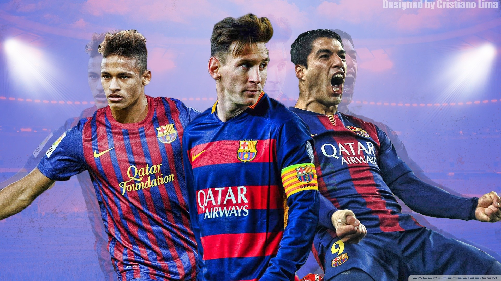 Messi And Neymar Wallpapers Wallpapertag