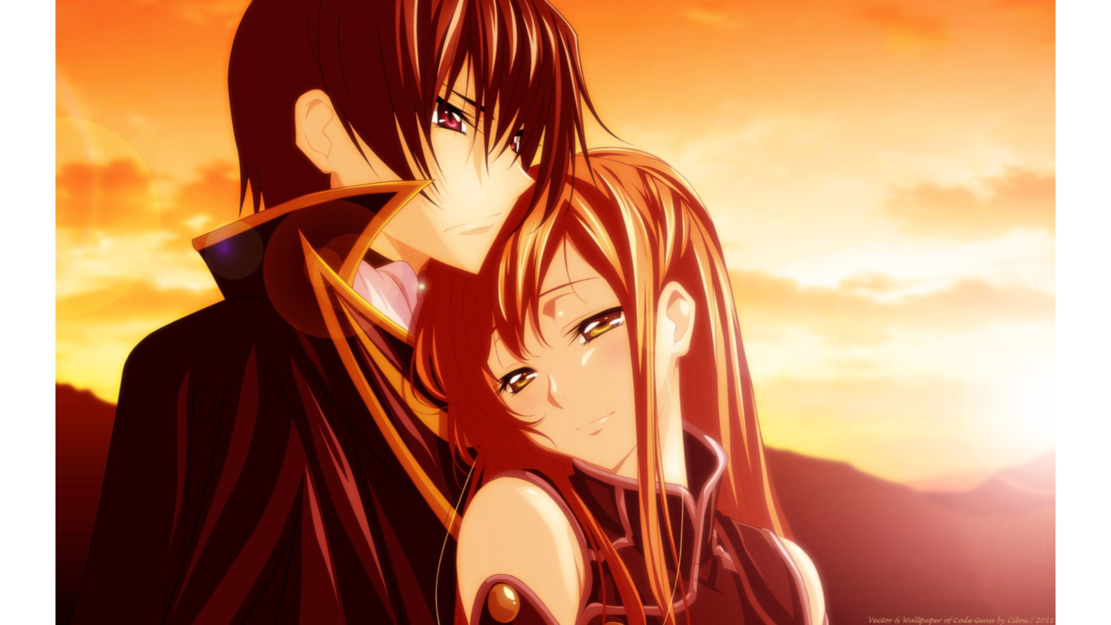 cute Love couple Hd Wallpaper Animated : Anime Love Wallpaper ??